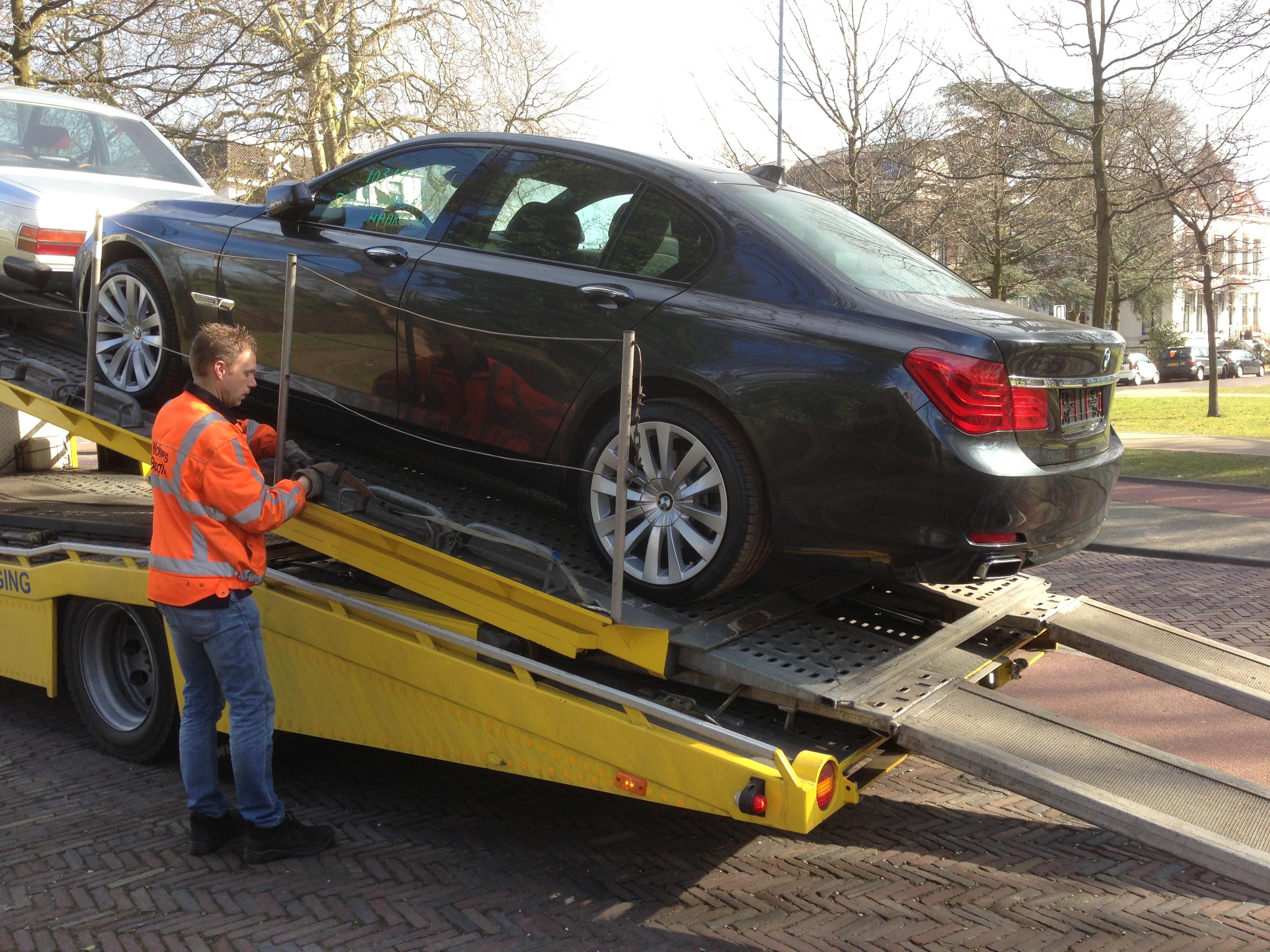 Dienstverlening auto import