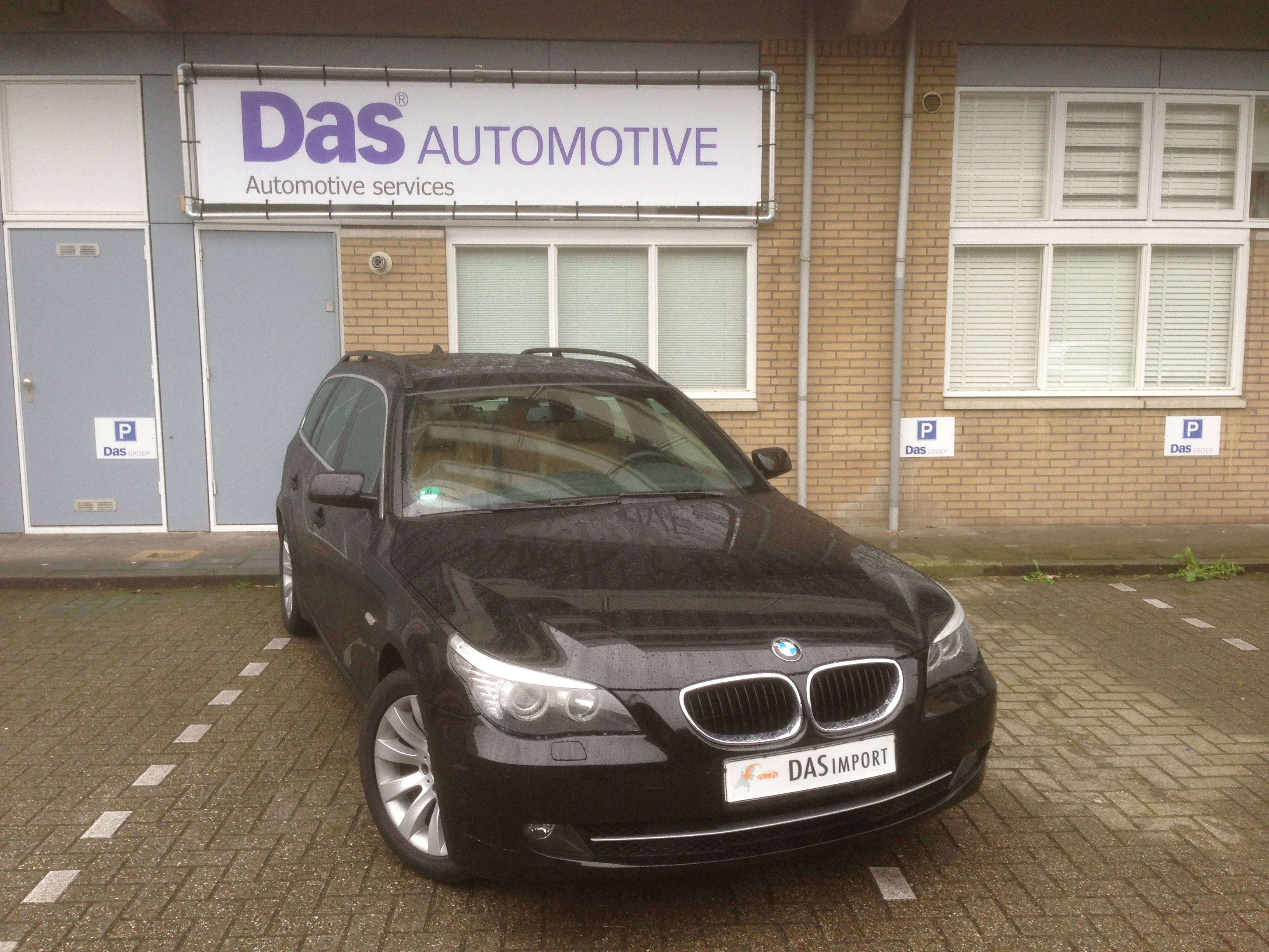 Importauto: BMW 5-serie Touring 520d Corporate Lease Executive 11/2008