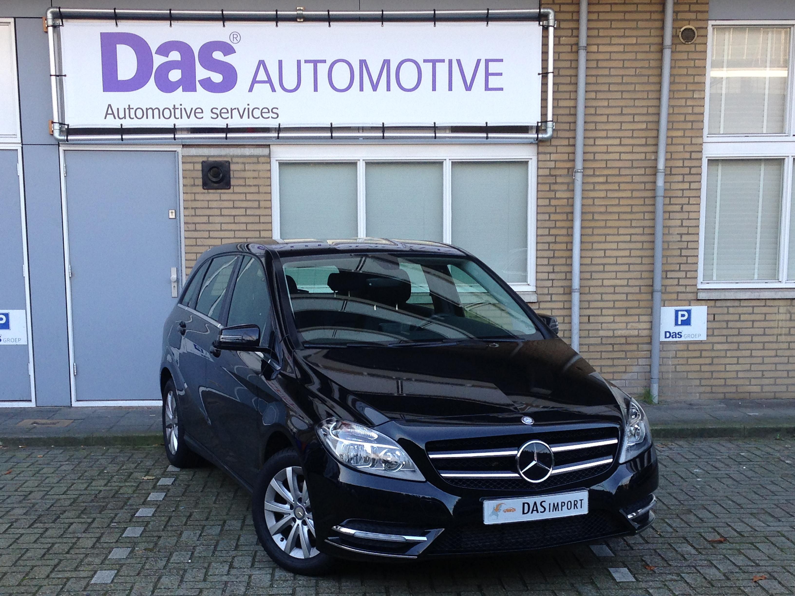 Importauto: Mercedes-Benz B-Klasse B 180 BlueEFFICIENCY 10/2013