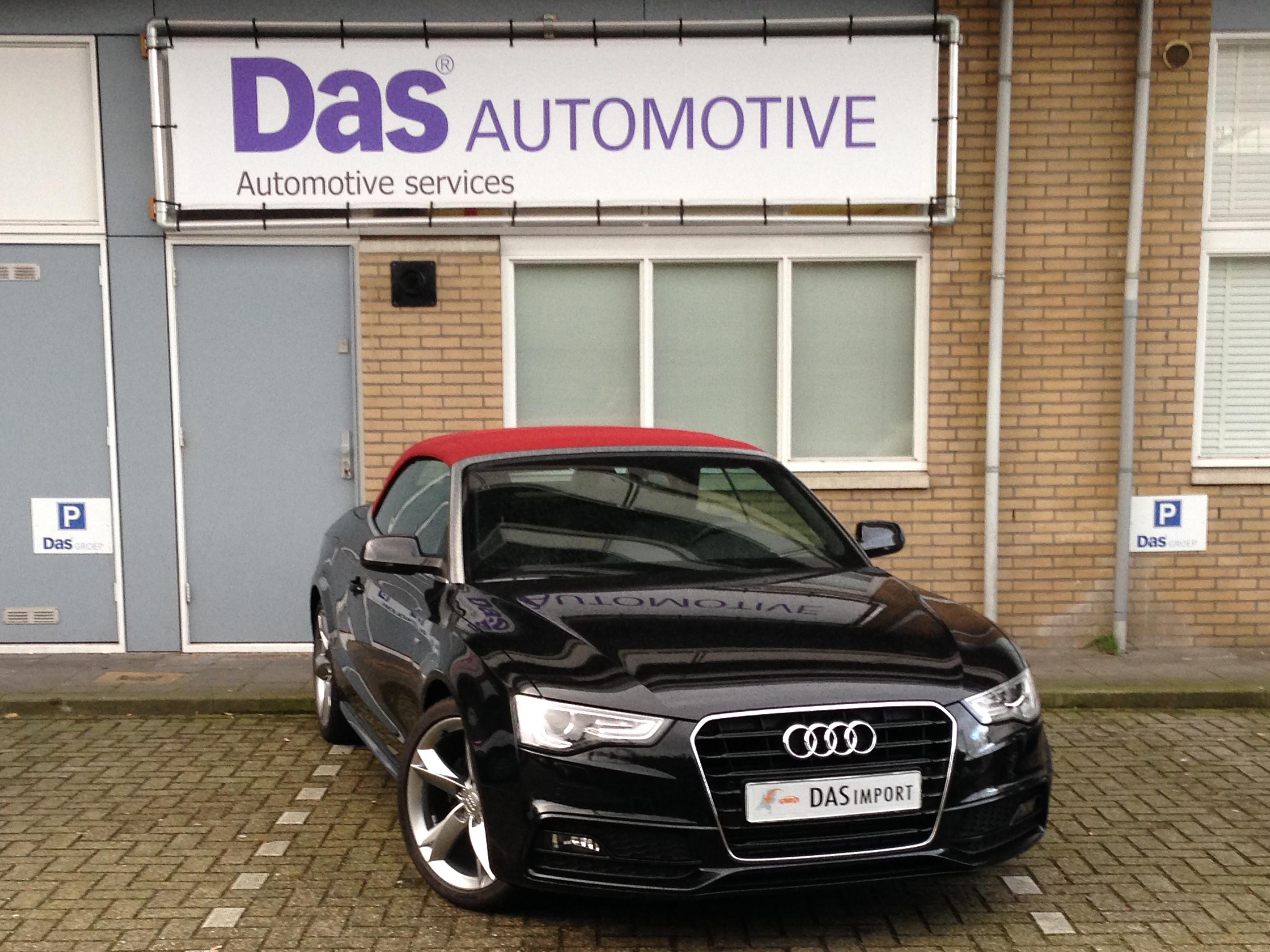 Importauto: Audi A5 Cabriolet 1.8 TFSI 125kW multitronic 5/2013