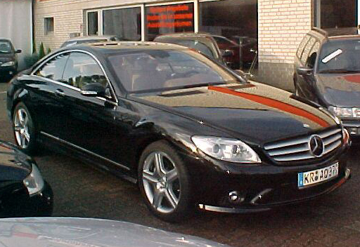 Importauto: Mercedes-Benz CL 500 AMG Styling 12/2006