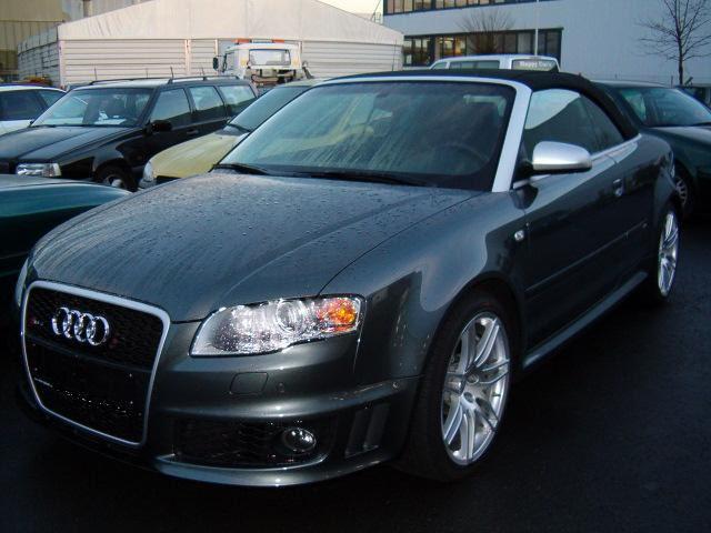 Importauto: Audi RS4 Cabrio 4/2006