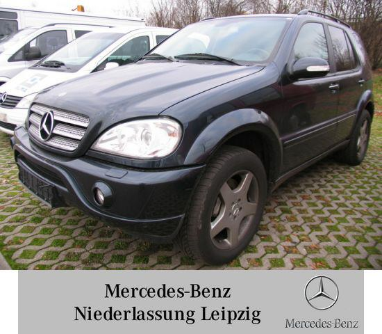 Importauto: Mercedes-Benz ML 55 AMG 11/2002