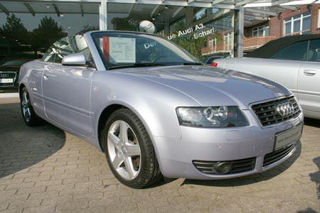 Importauto: Audi A4 Cabriolet 2.4 Multitronic 3/2003