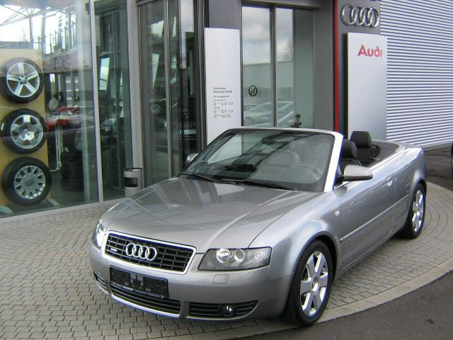 Importauto: Audi A4 Cabriolet 3.0 3/2004