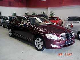 Importauto: Mercedes-Benz S 500 Lang 4-matic 7/2006