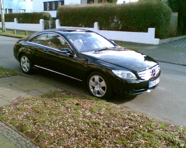 Importauto: Mercedes-Benz CL 500 2/2007