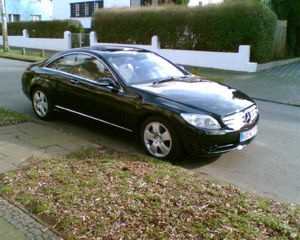 Importauto: Mercedes-Benz CL 500 2/2007