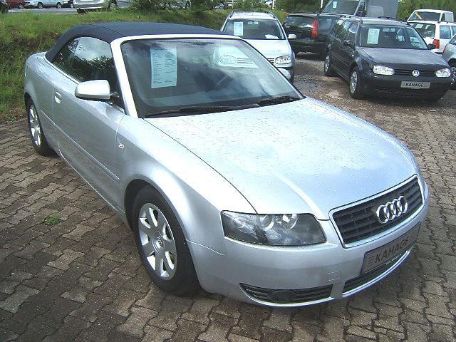 Importauto: Audi A4 Cabriolet 2.4 Multitronic 2/2002