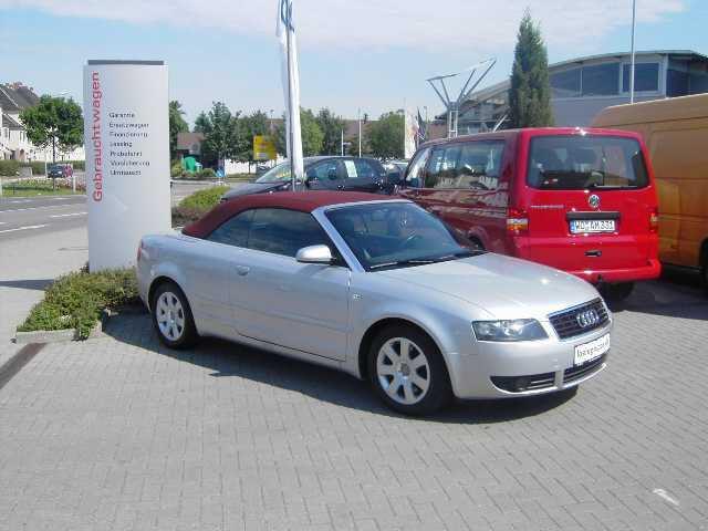 Importauto: Audi A3 Cabriolet 2.4 Multitronic 3/2003