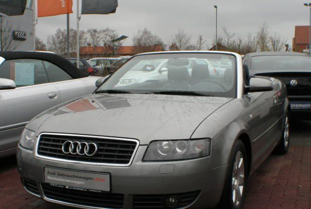 Importauto: Audi A4 Cabriolet 3.0 Multitronic 9/2002
