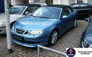 Importauto: Saab 9-3 Cabrio Aero Anniversary 8/2006