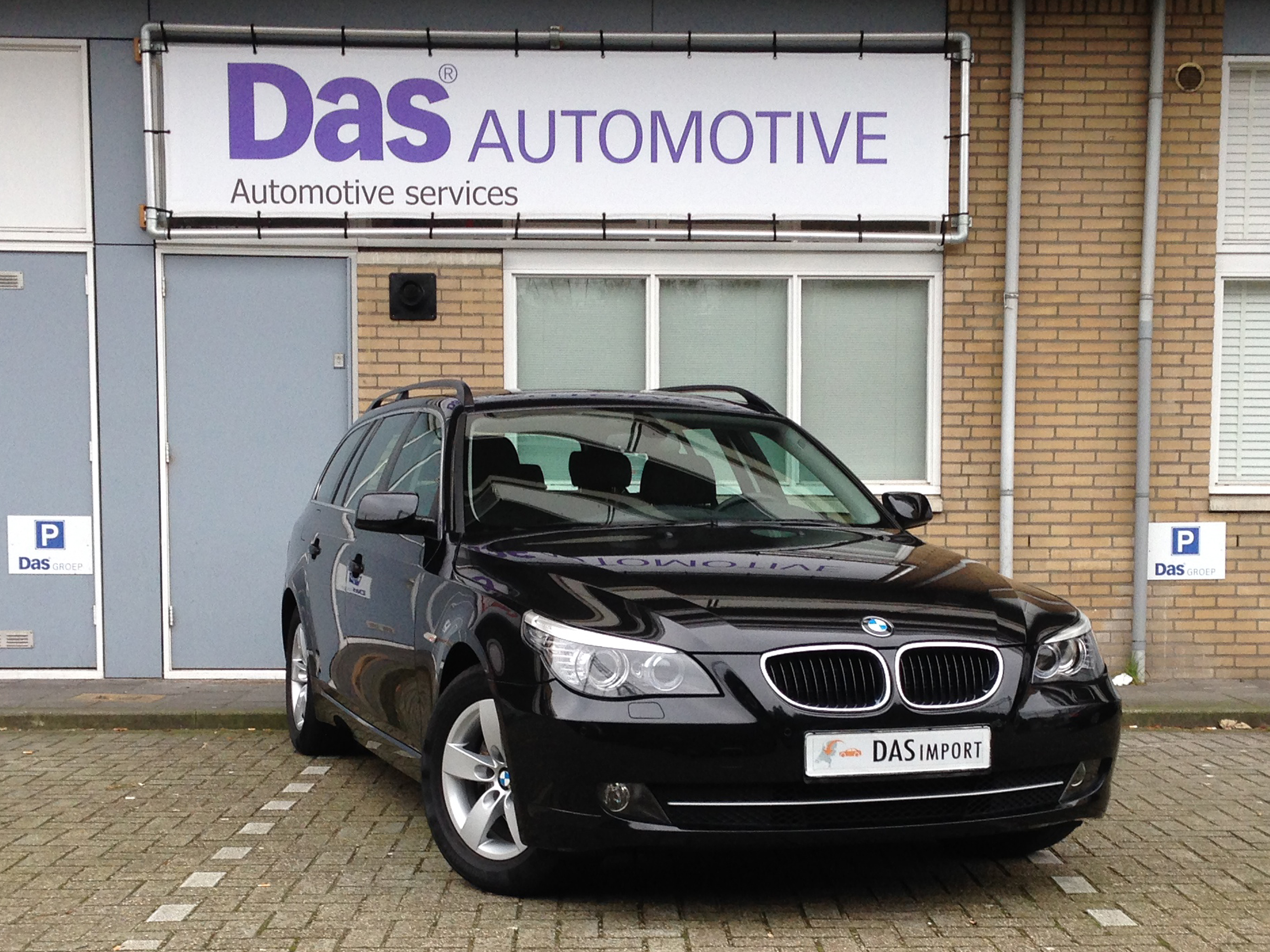 Importauto: BMW 5-Serie Touring Diesel 520d 10/2008