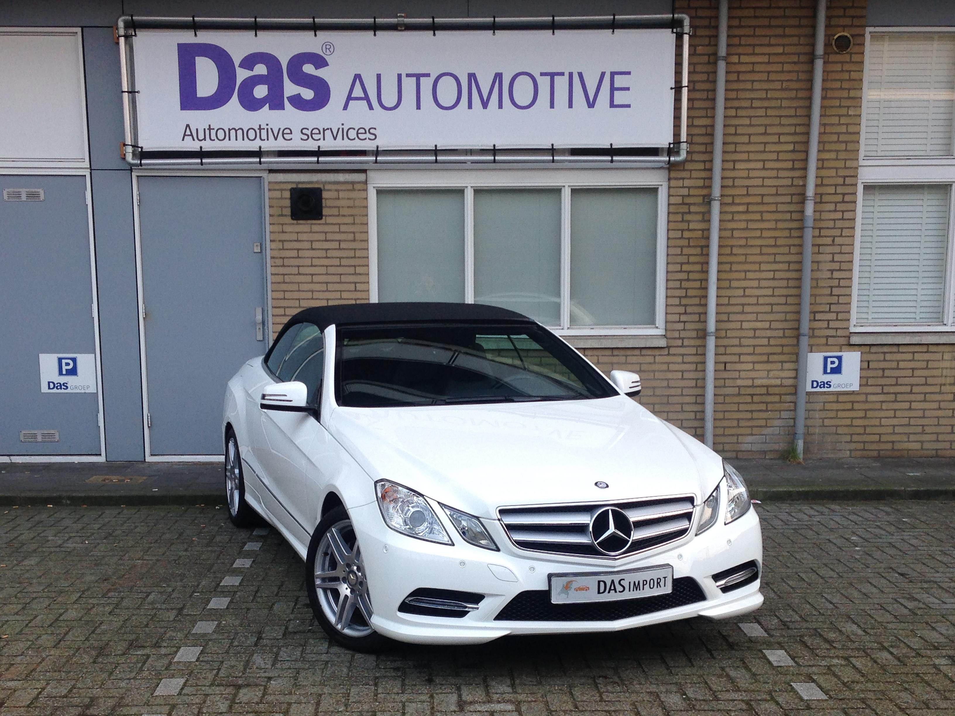 Importauto: Mercedes-Benz E-Klasse Cabrio E 200 BlueEFF 2/2013