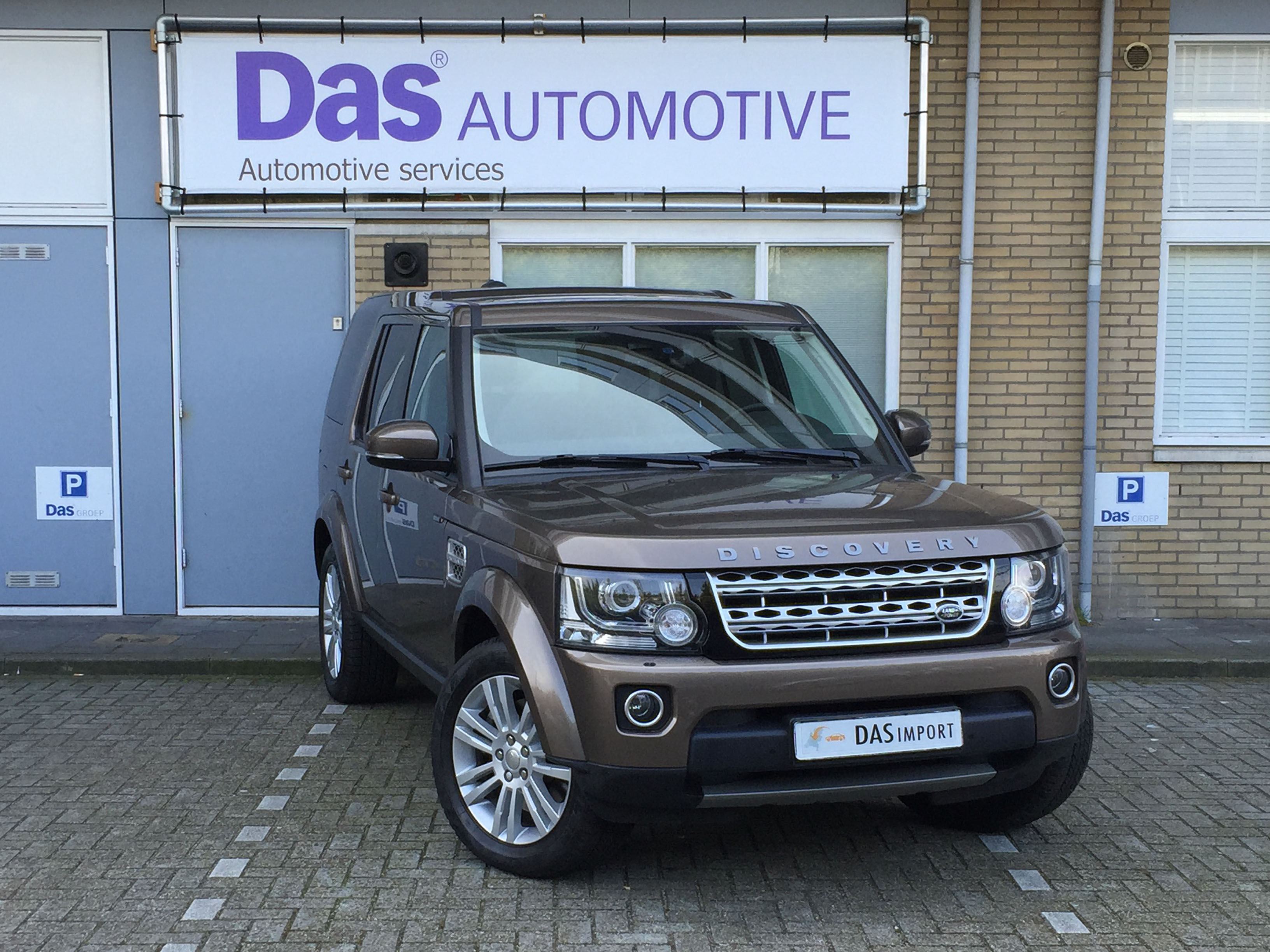 Importauto: Land Rover Discovery 4 Diesel SDV6 3.0 HSE Aut 8/2014