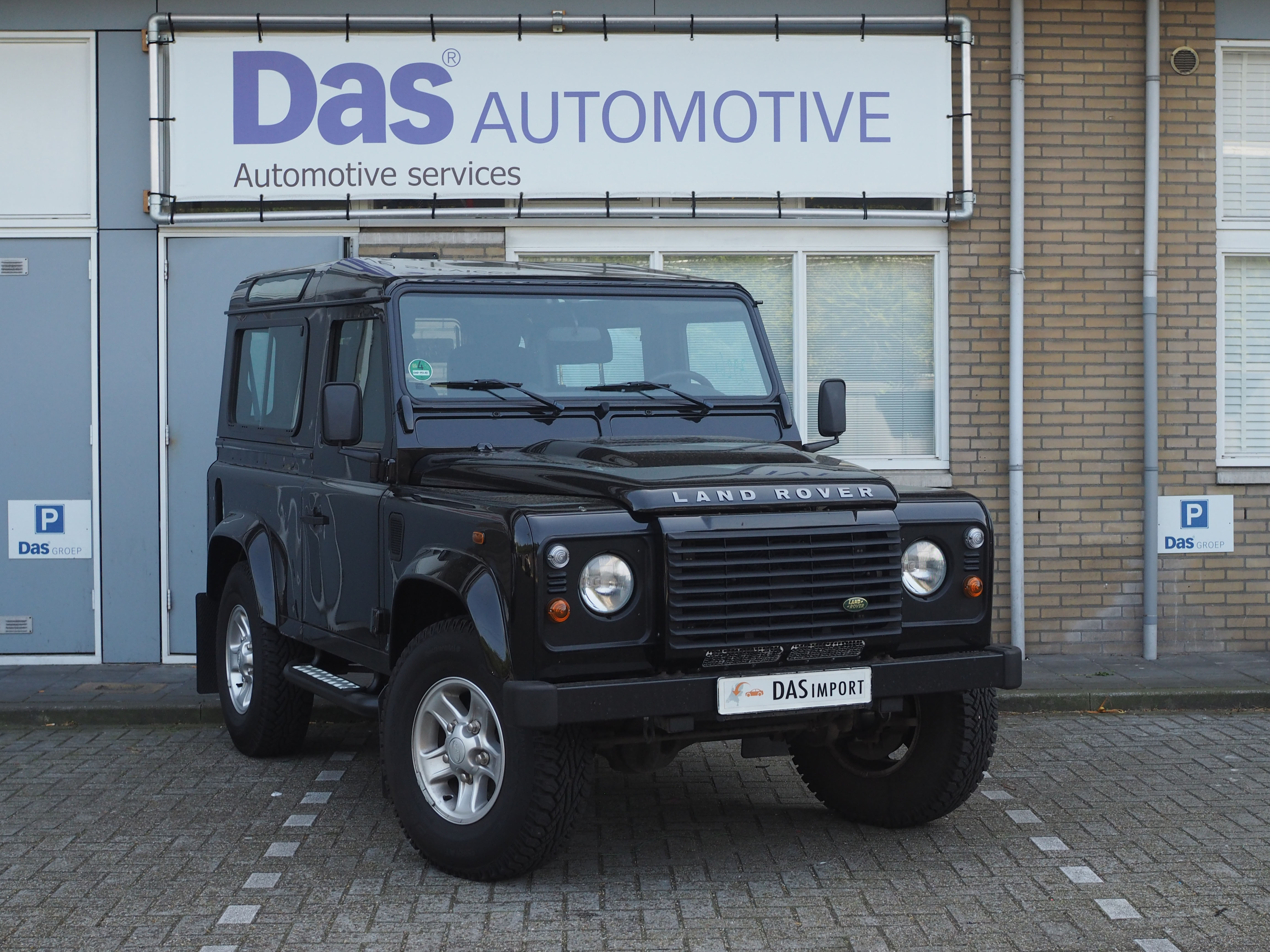 Importauto: Land Rover Defender 90 Diesel 90 Station Wagon SE 12/2009