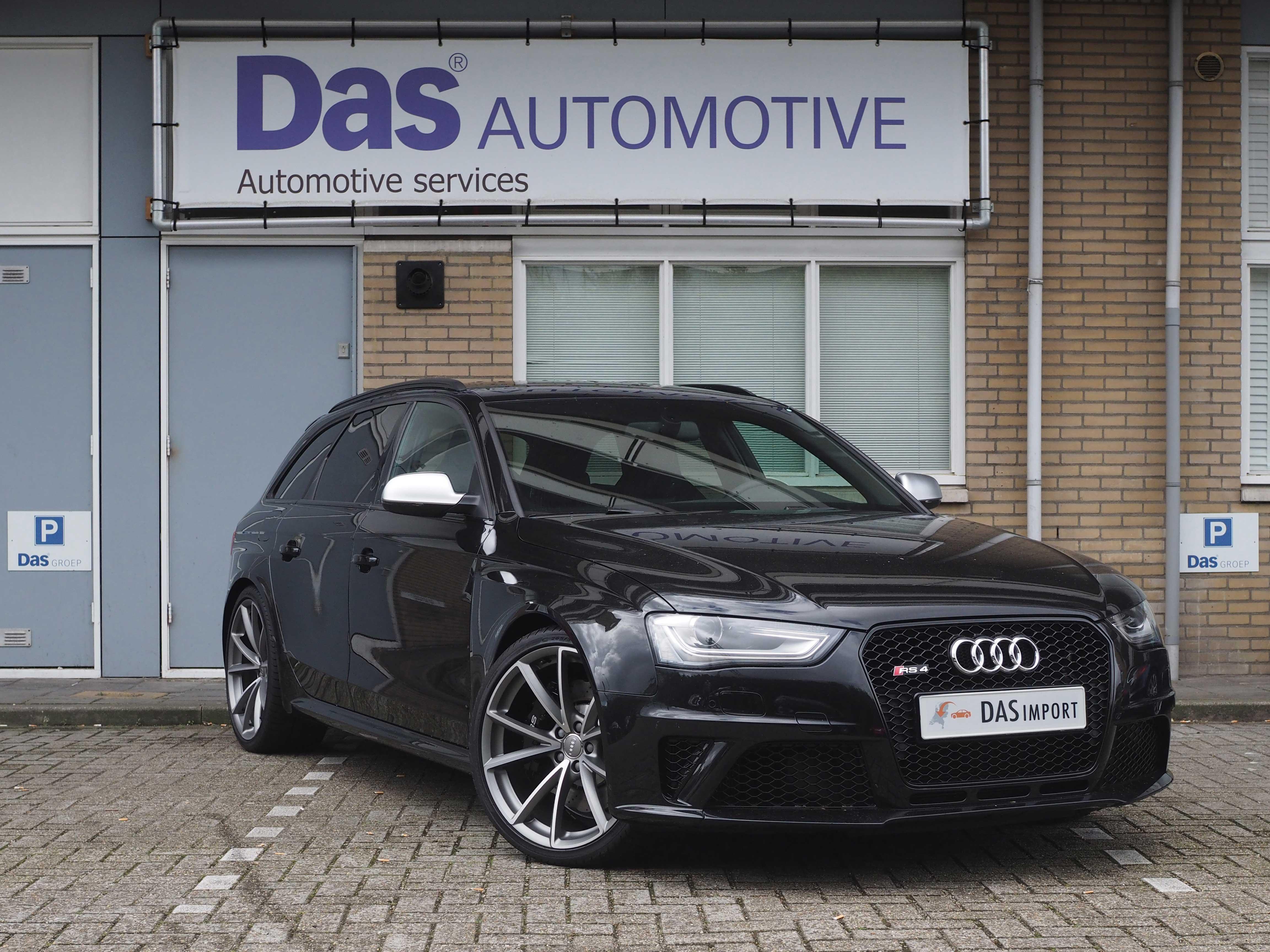 Audi RS4 invoeren uit Duitsland