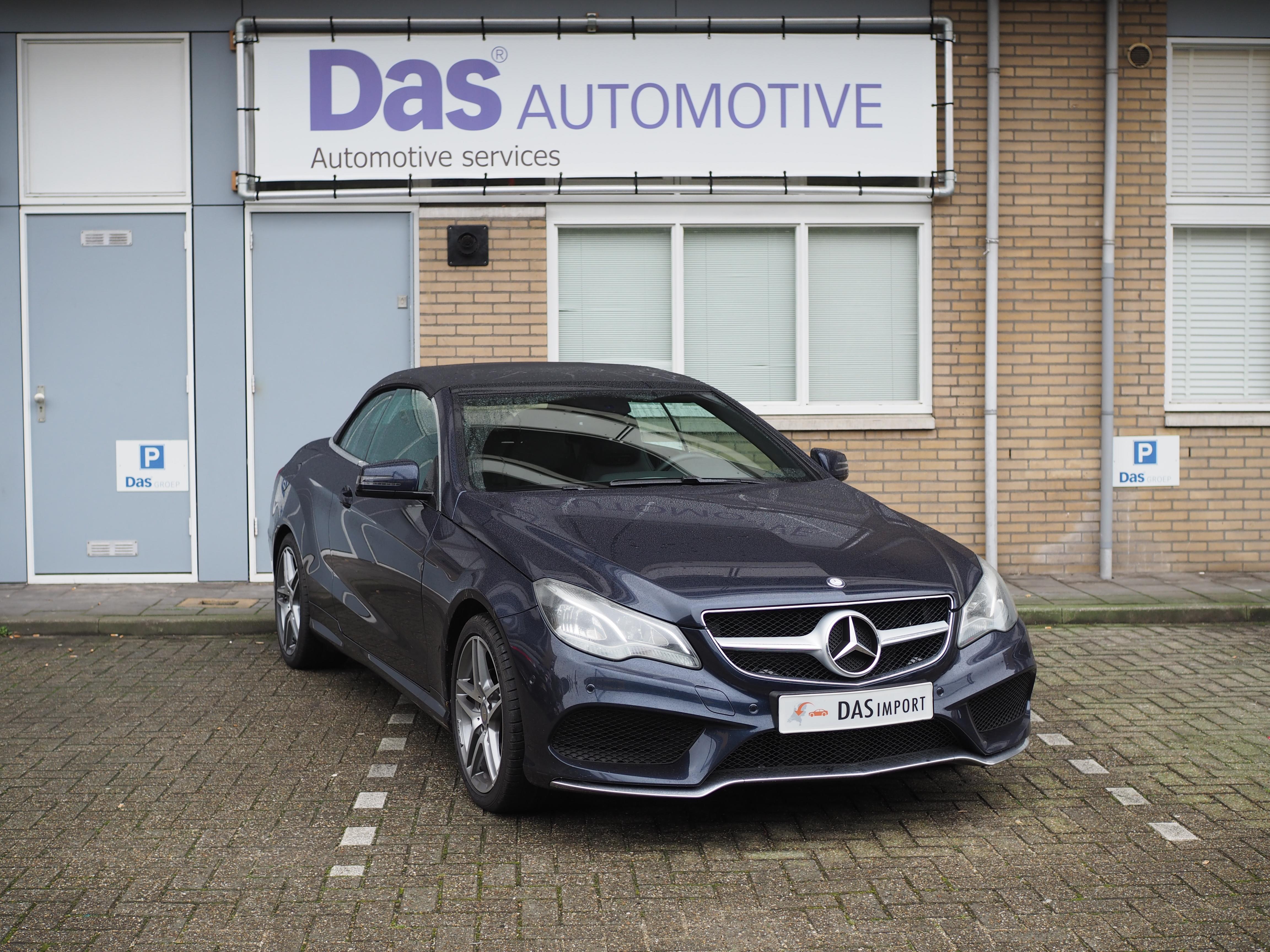 Importauto: Mercedes-Benz E250 Cabriolet AMG-pakket 8/2014
