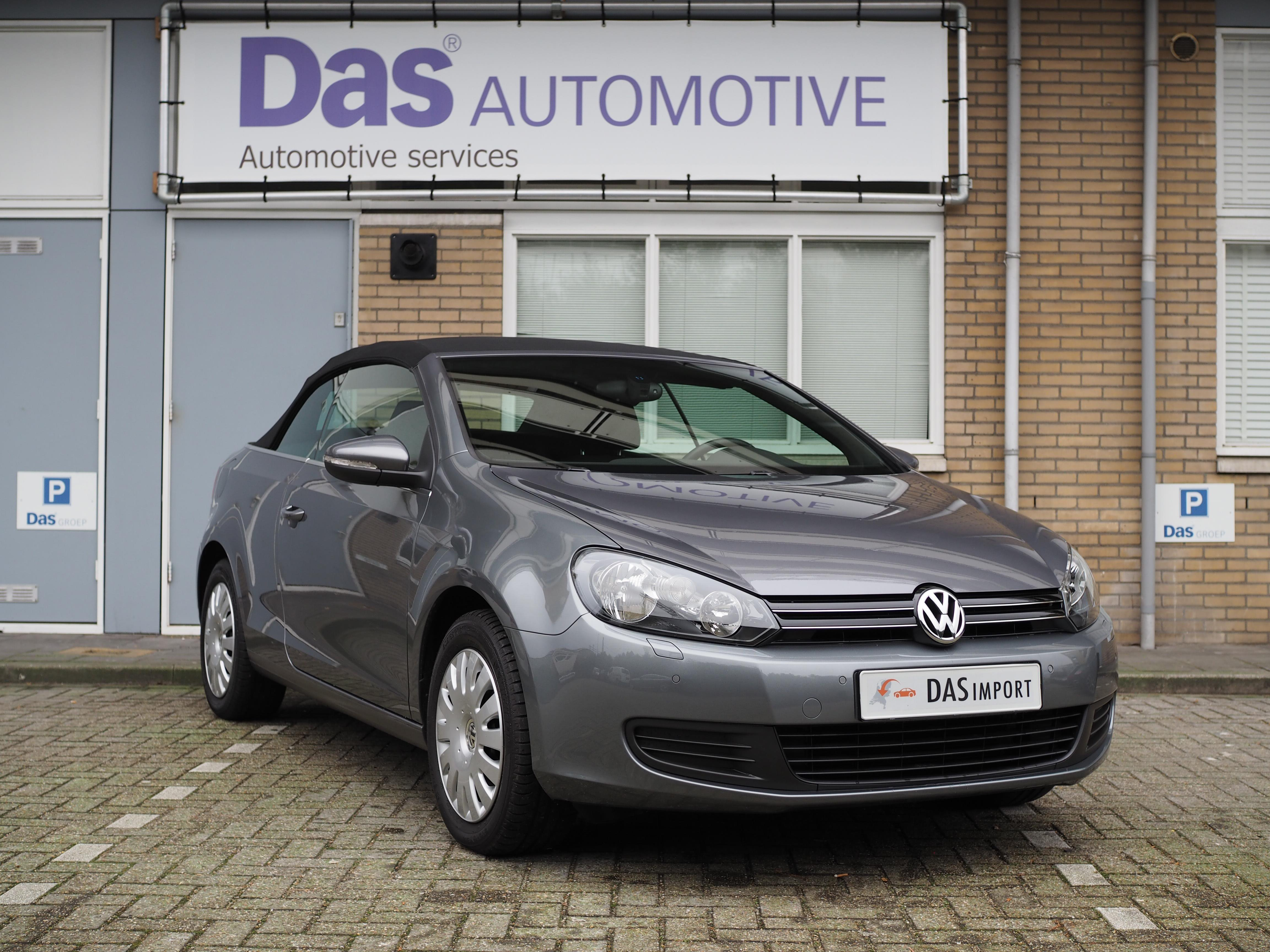 Importauto: Volkswagen Golf Cabriolet 1.2 TSI 105pk BMT 5/2012
