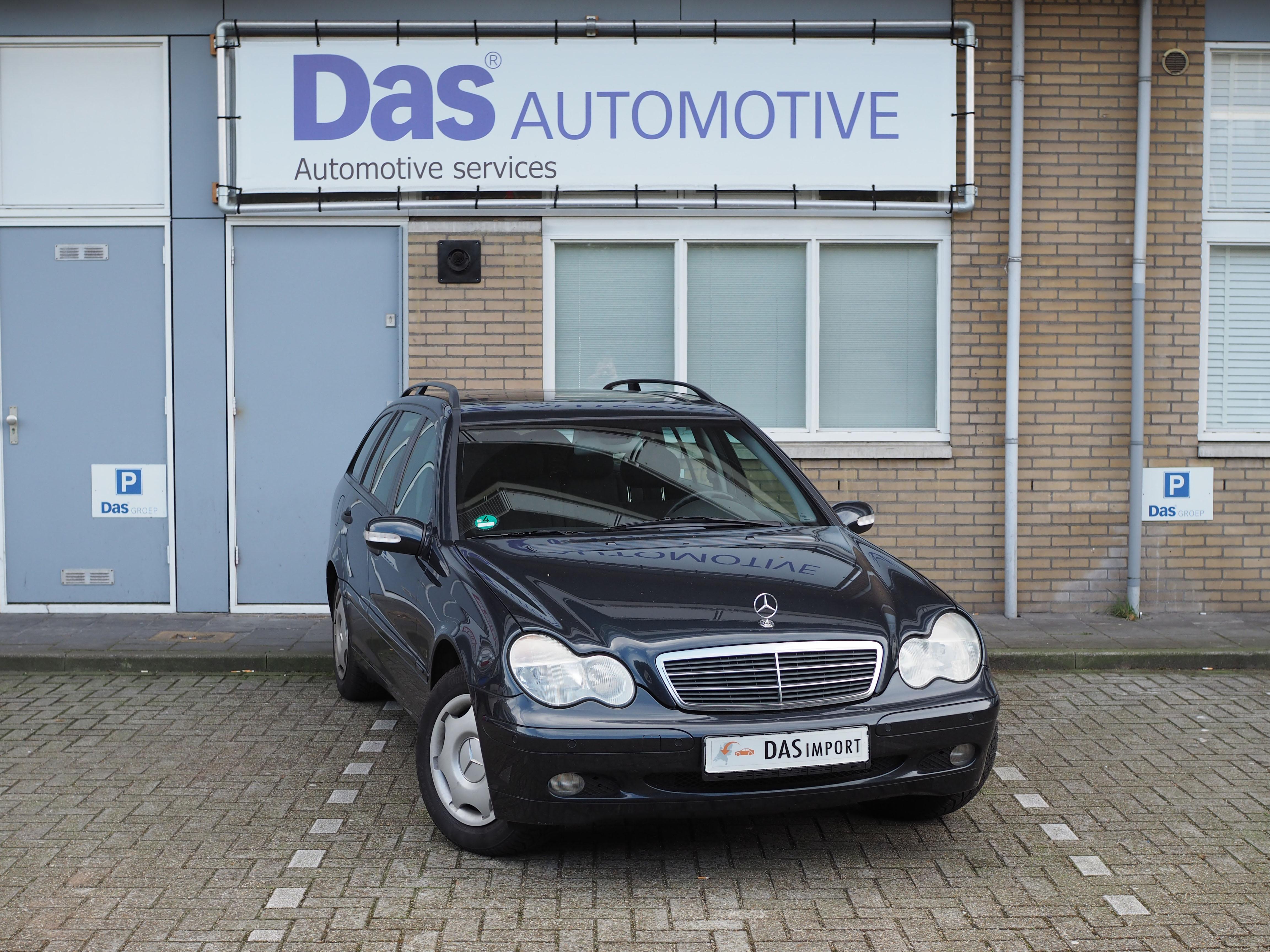 Importauto: Mercedes-Benz C-klasse Combi 200K Classic 6/2001