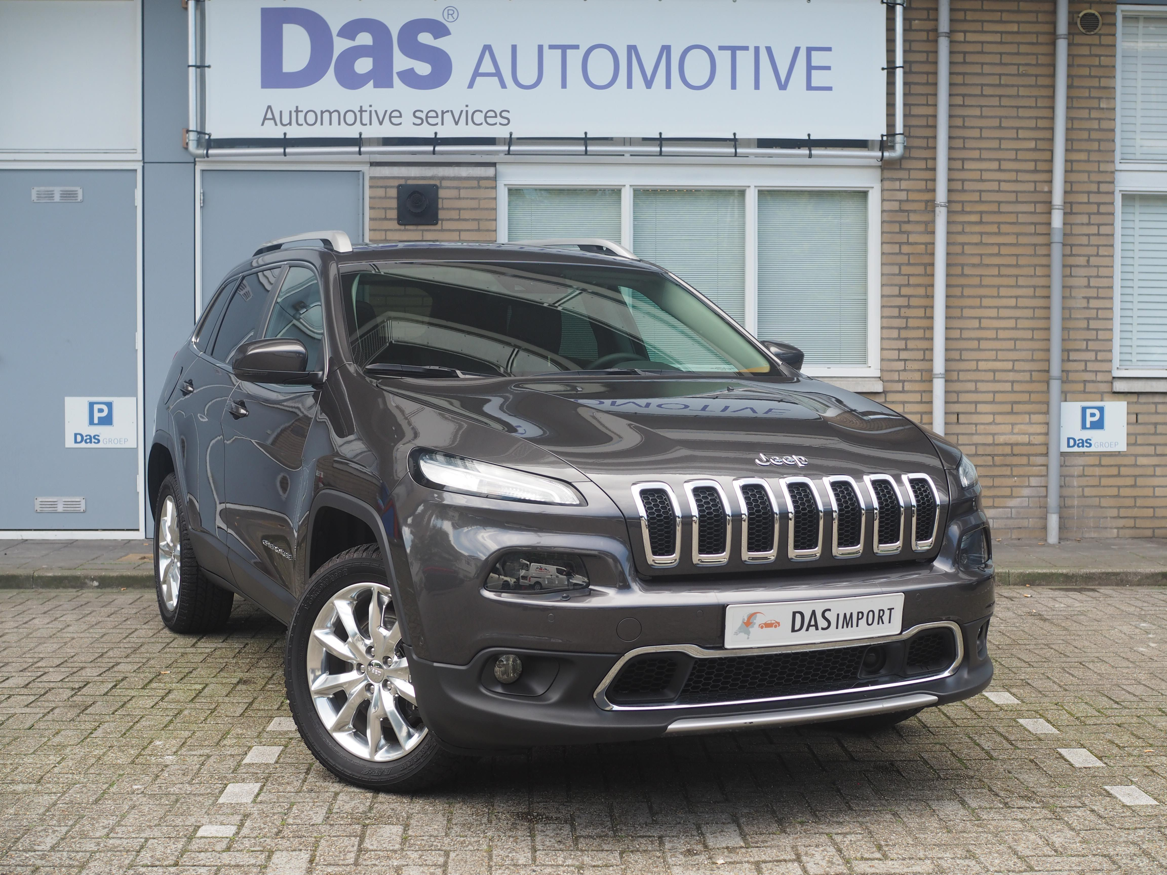Importauto: Jeep Cherokee Diesel 2.0 170pk Limited AWD Aut. 7/2014
