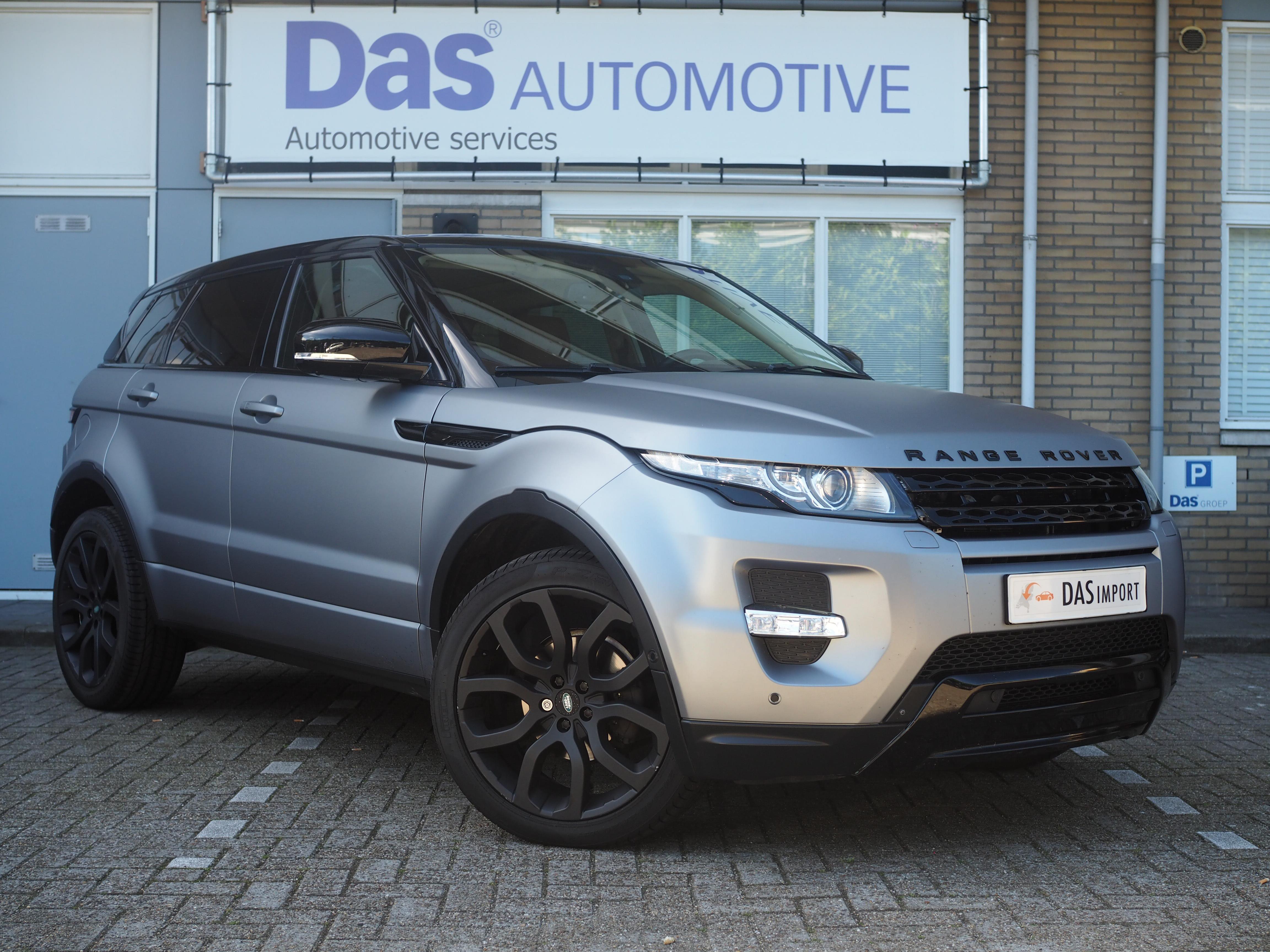 Importauto: Land Rover Range Rover Evoque Diesel 2.2 SD4 4WD Dynamic Aut. 9/2011