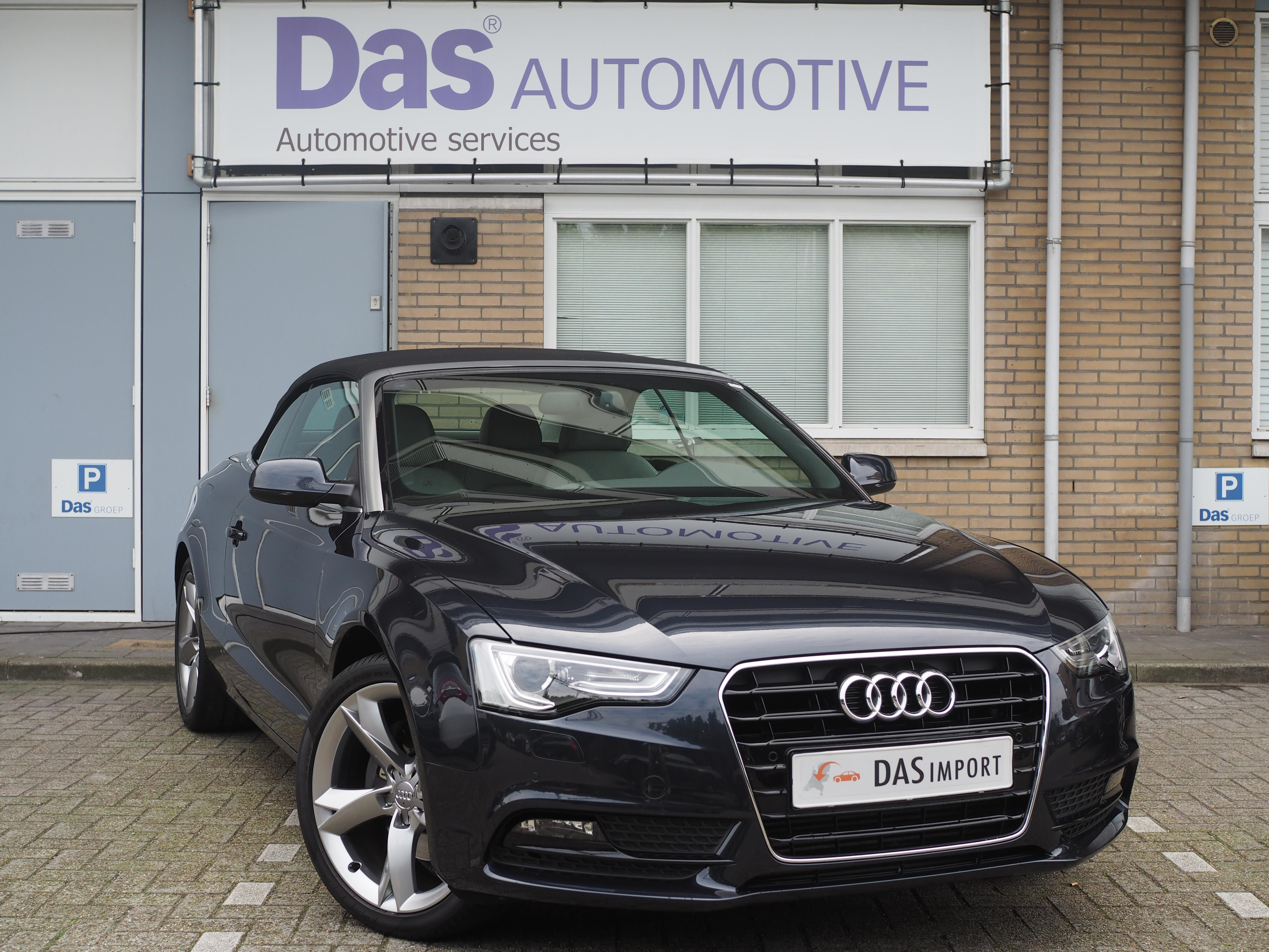 Importauto: Audi A5 Cabriolet 2.0 TFSI 155kW multitronic 2/2012