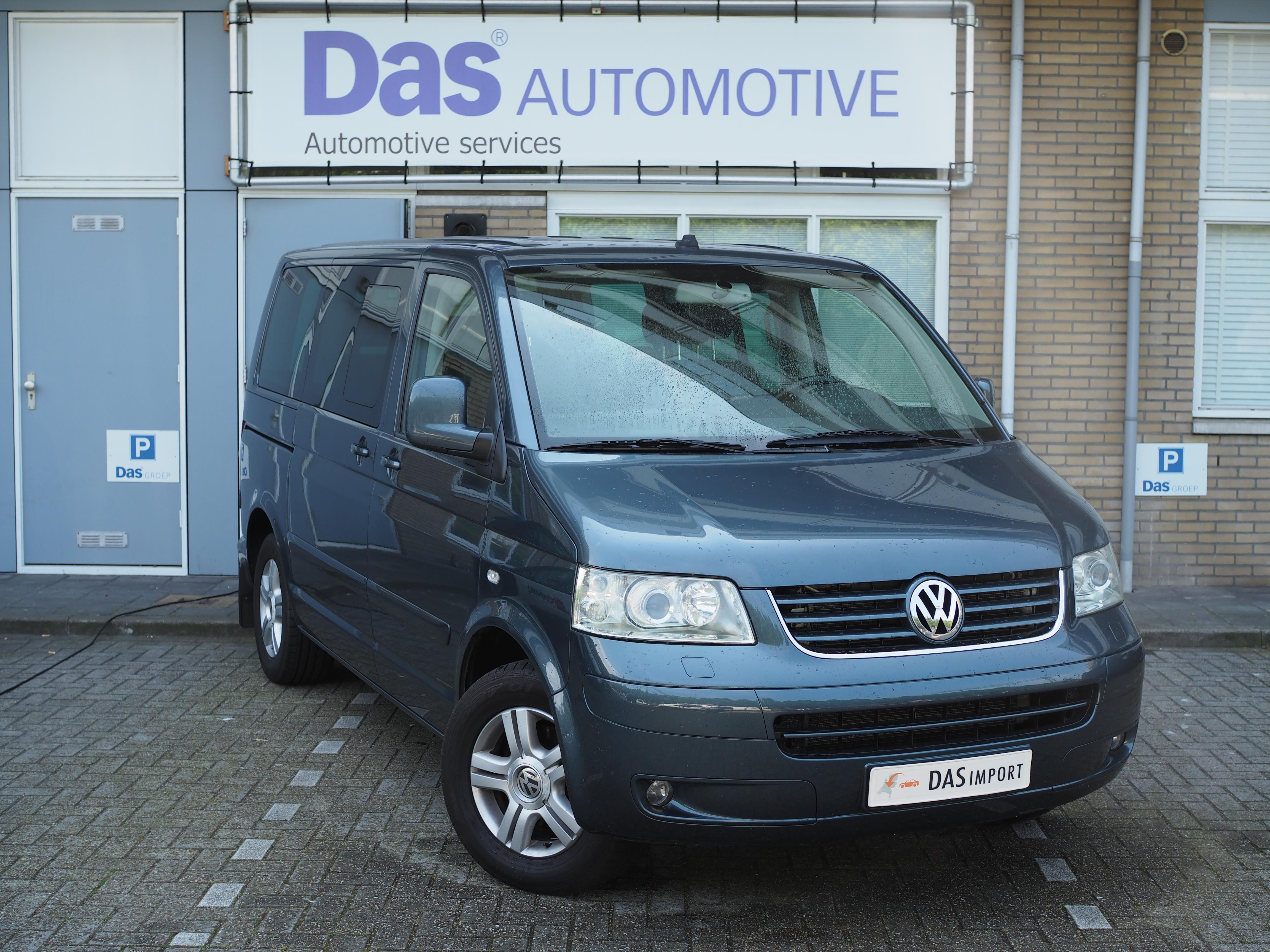 Importauto: Volkswagen T5 Multivan, 2.5 TDI 4Motion Highline 9/2007