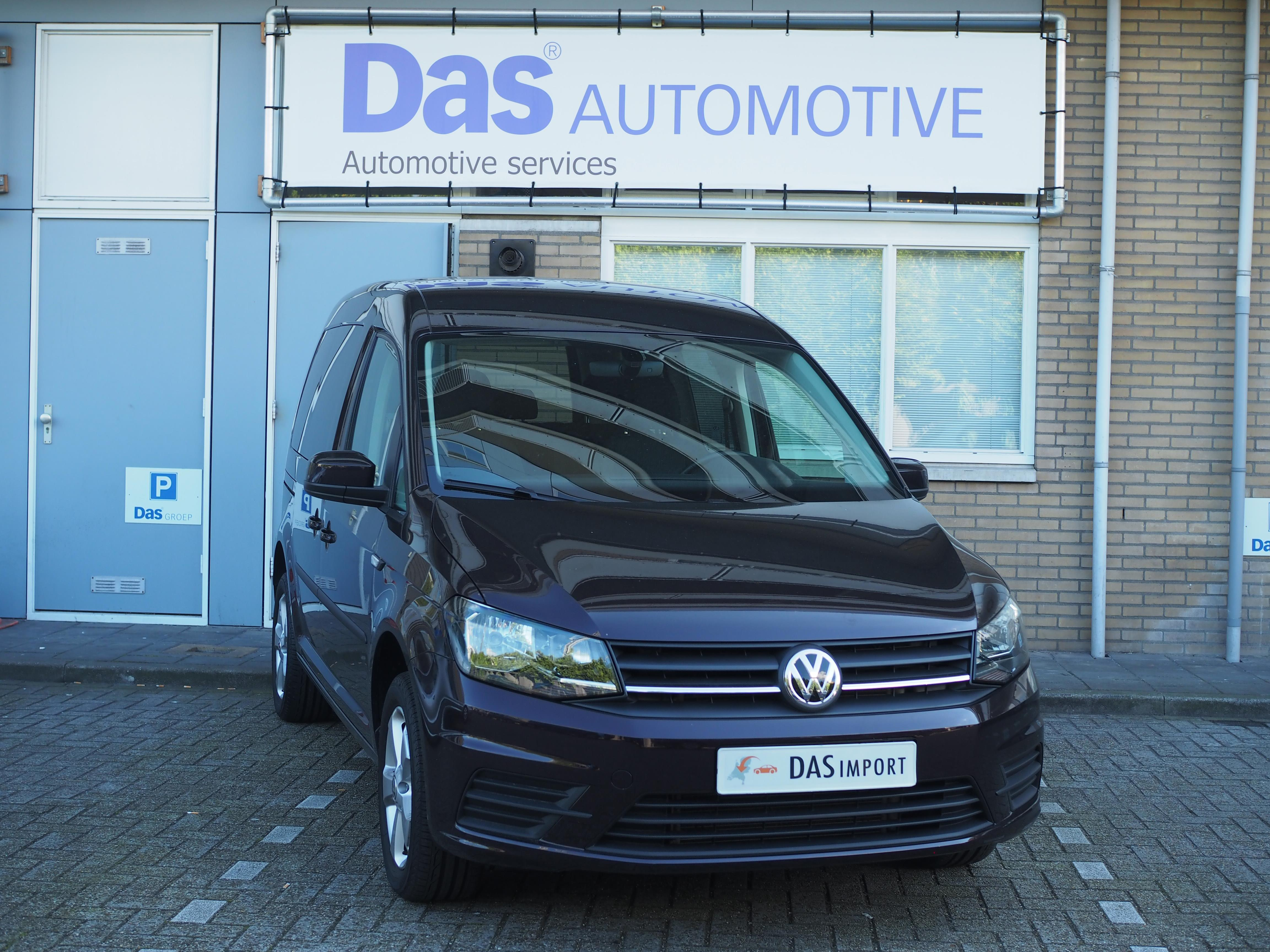 Importauto: Volkswagen Caddy Combi 1.4 TSI 125pk Trendline DSG 9/2015