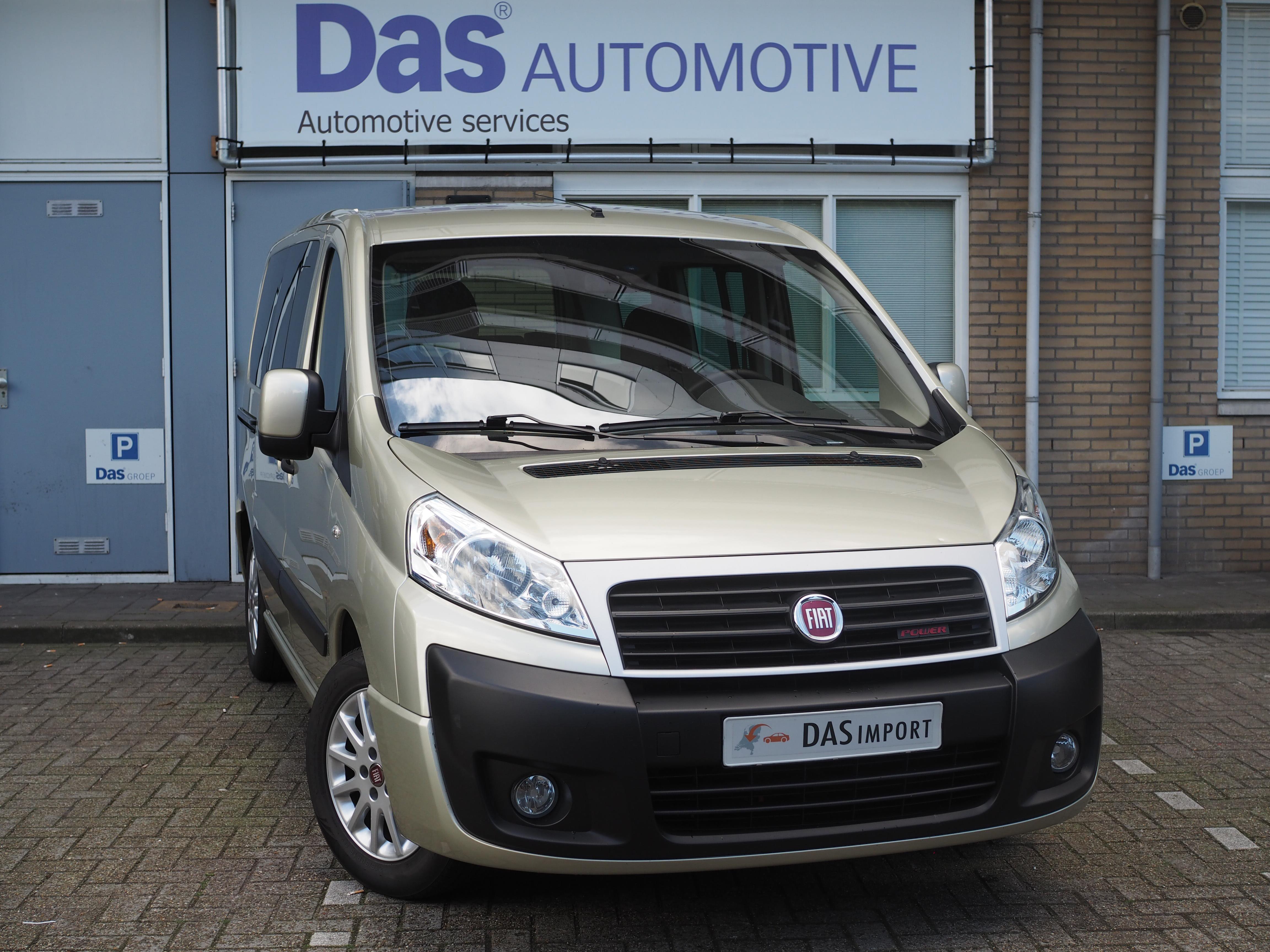 Importauto: Fiat Scudo Diesel 2.0 MJet L1H1 Pan. Exe. 120kW 3/2014