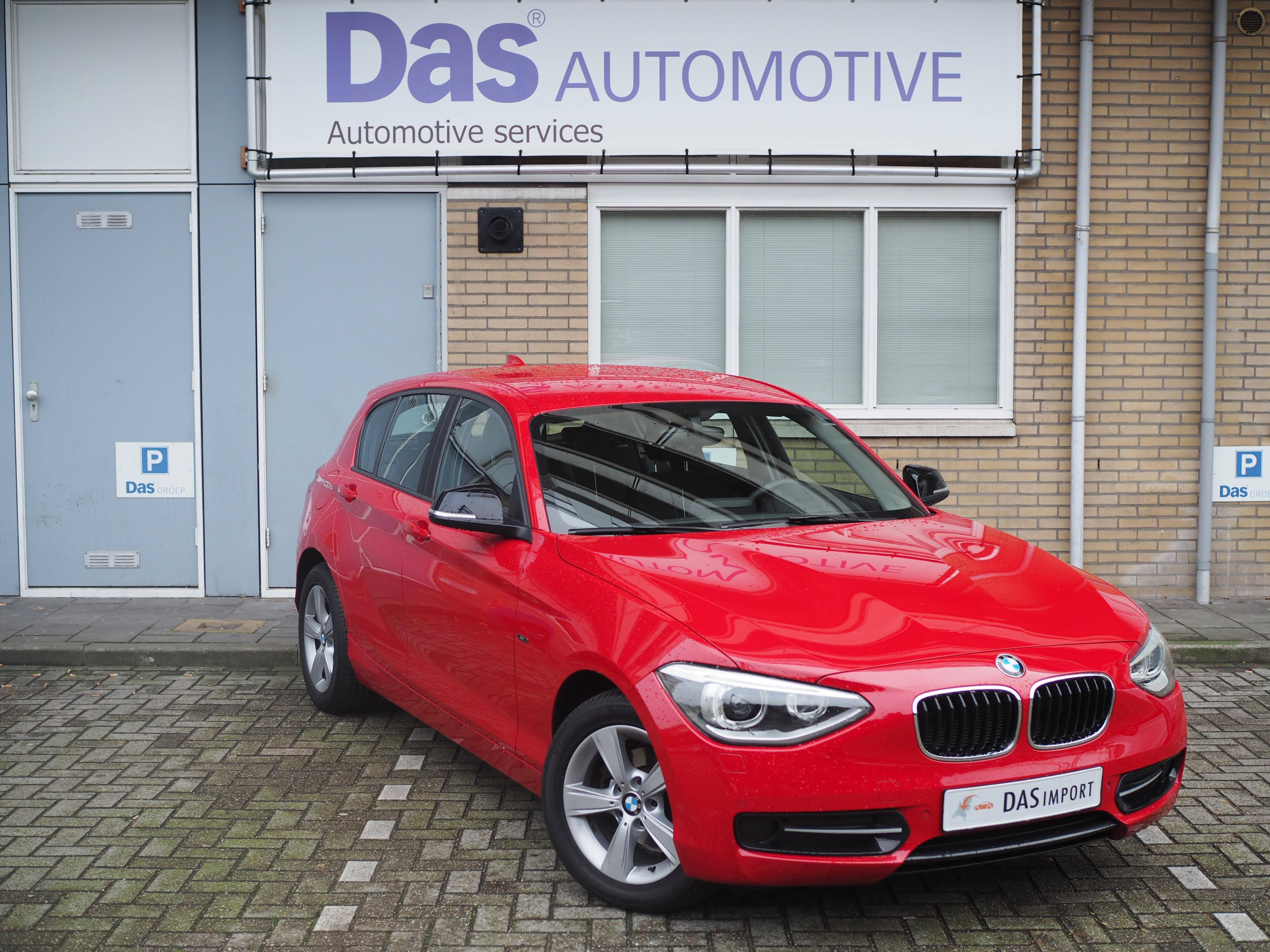 Importauto: BMW 1-serie 116i 7/2013