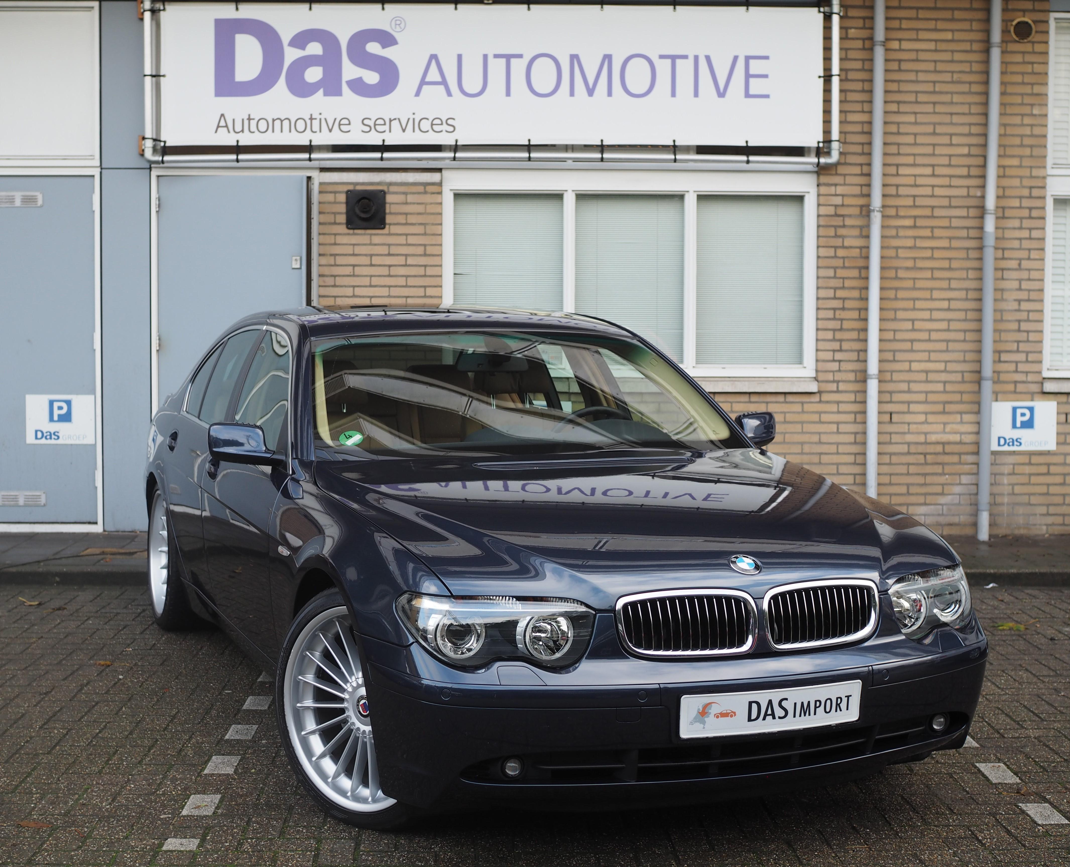 Importauto: BMW 7-serie 745i Executive 10/2001