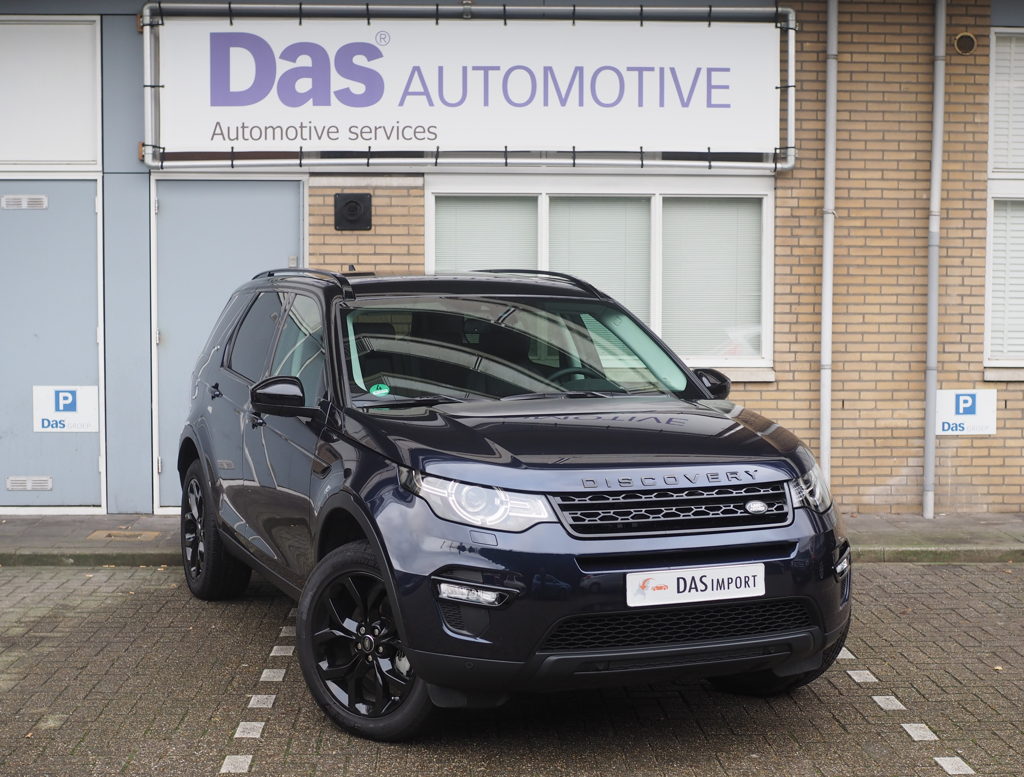 Importauto: Land Rover Discovery Sport TD4 180 HSE 4/2016