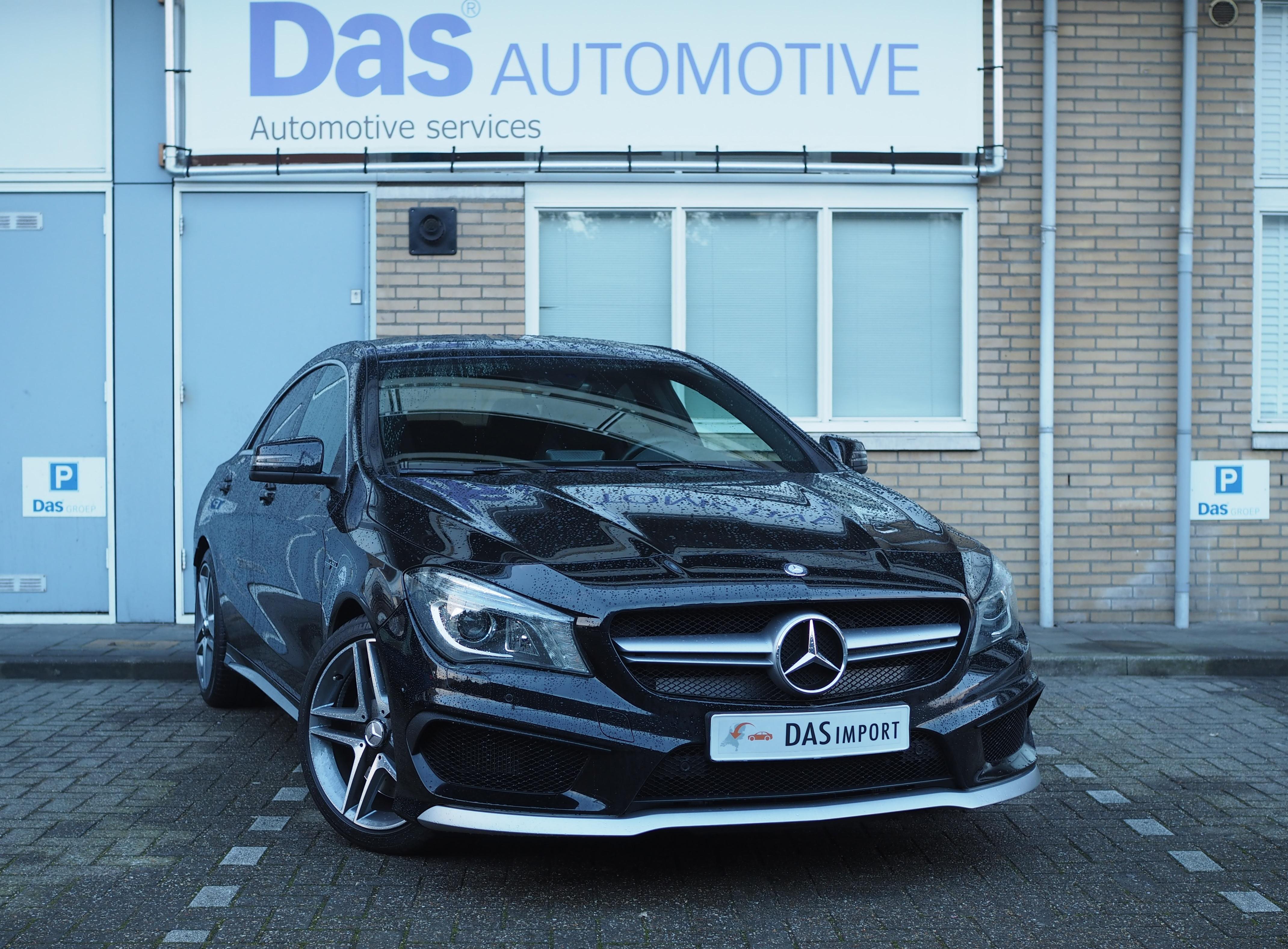 Importauto: Mercedes-Benz CLA-Klasse 45 AMG 4-Matic 11/2013