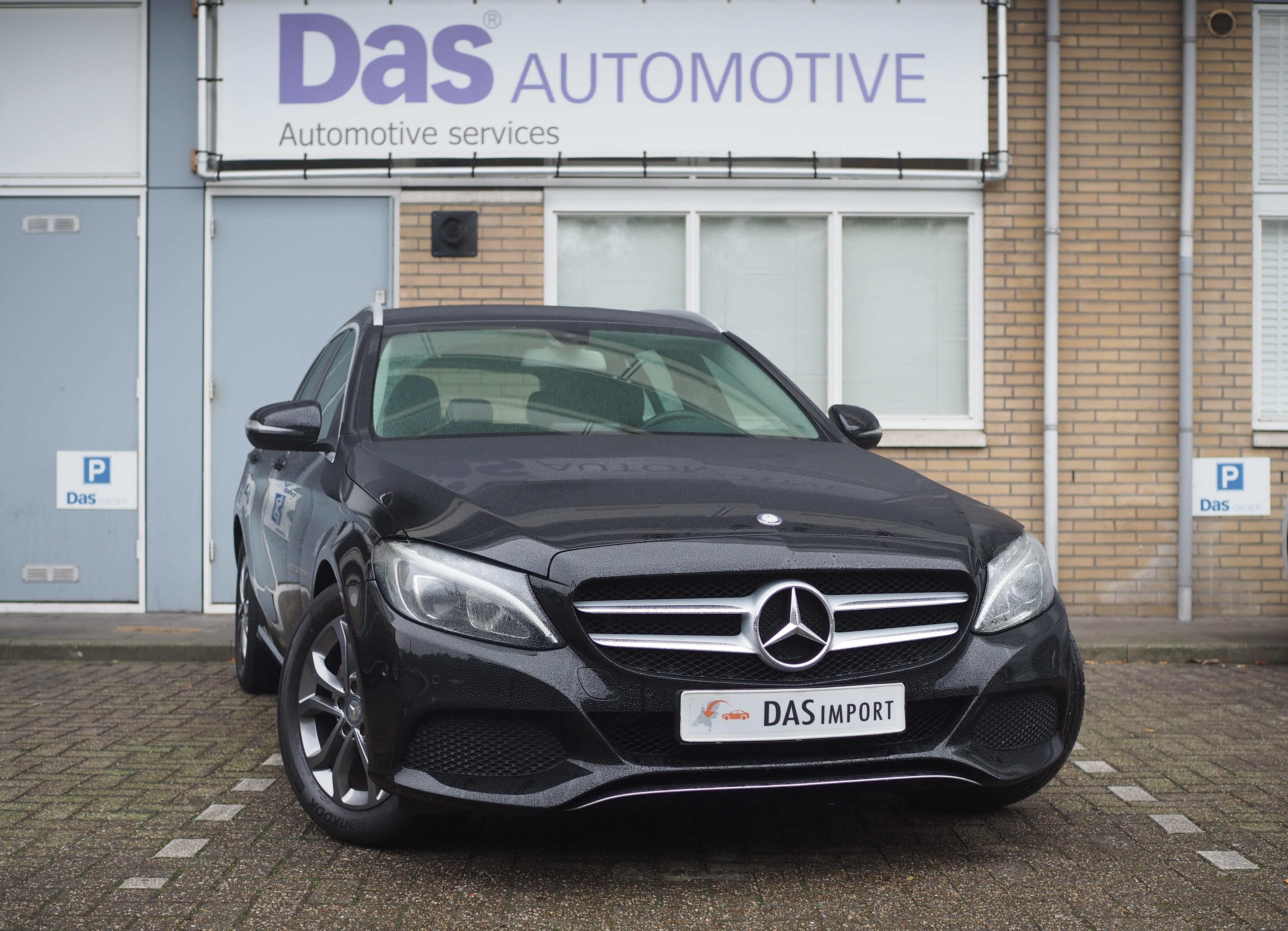 Importauto: Mercedes-Benz C-klasse C180 Estate Aut.  9/2015
