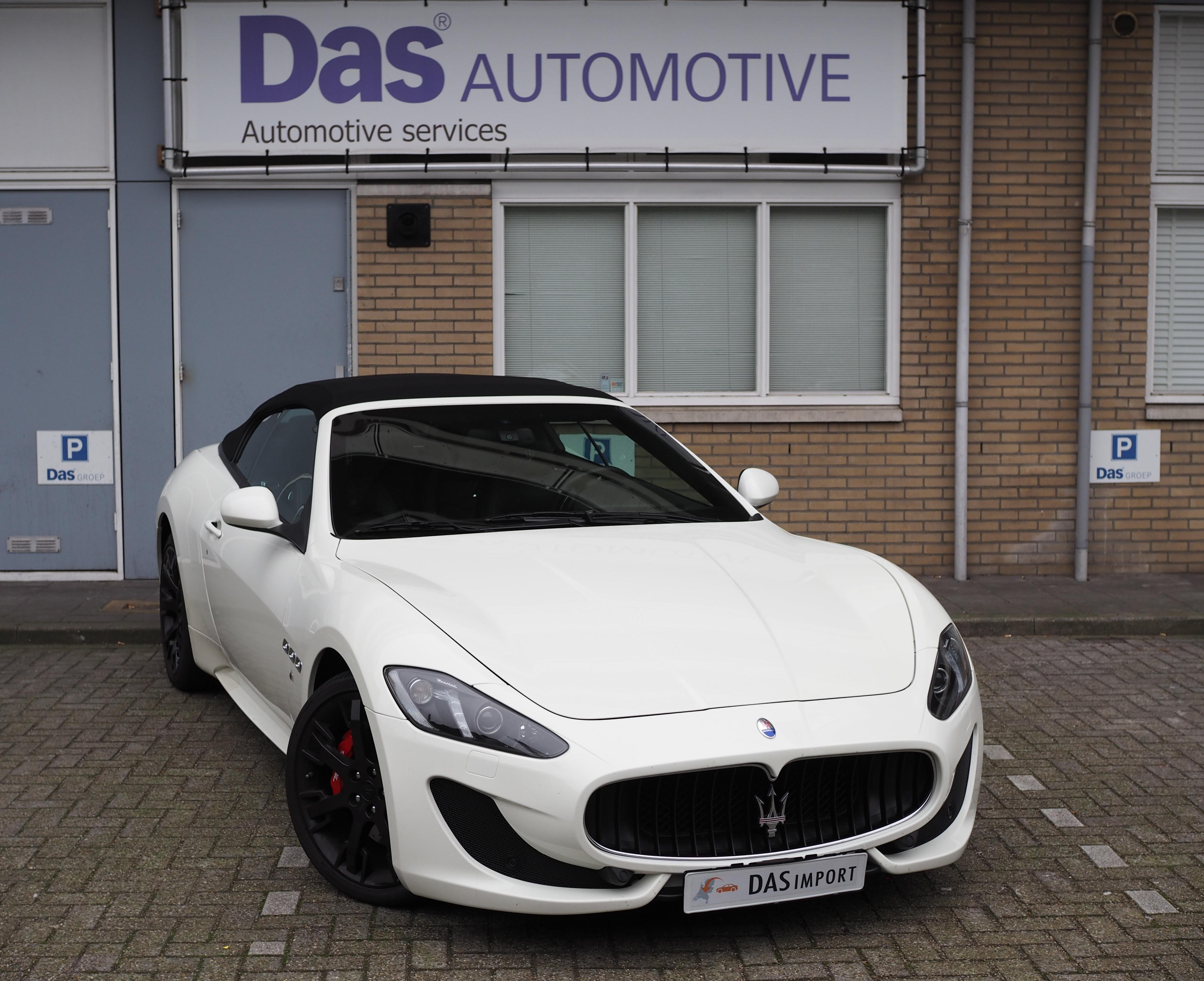 Importauto: Maserati GranCabrio 4.7 Sport 9/2014