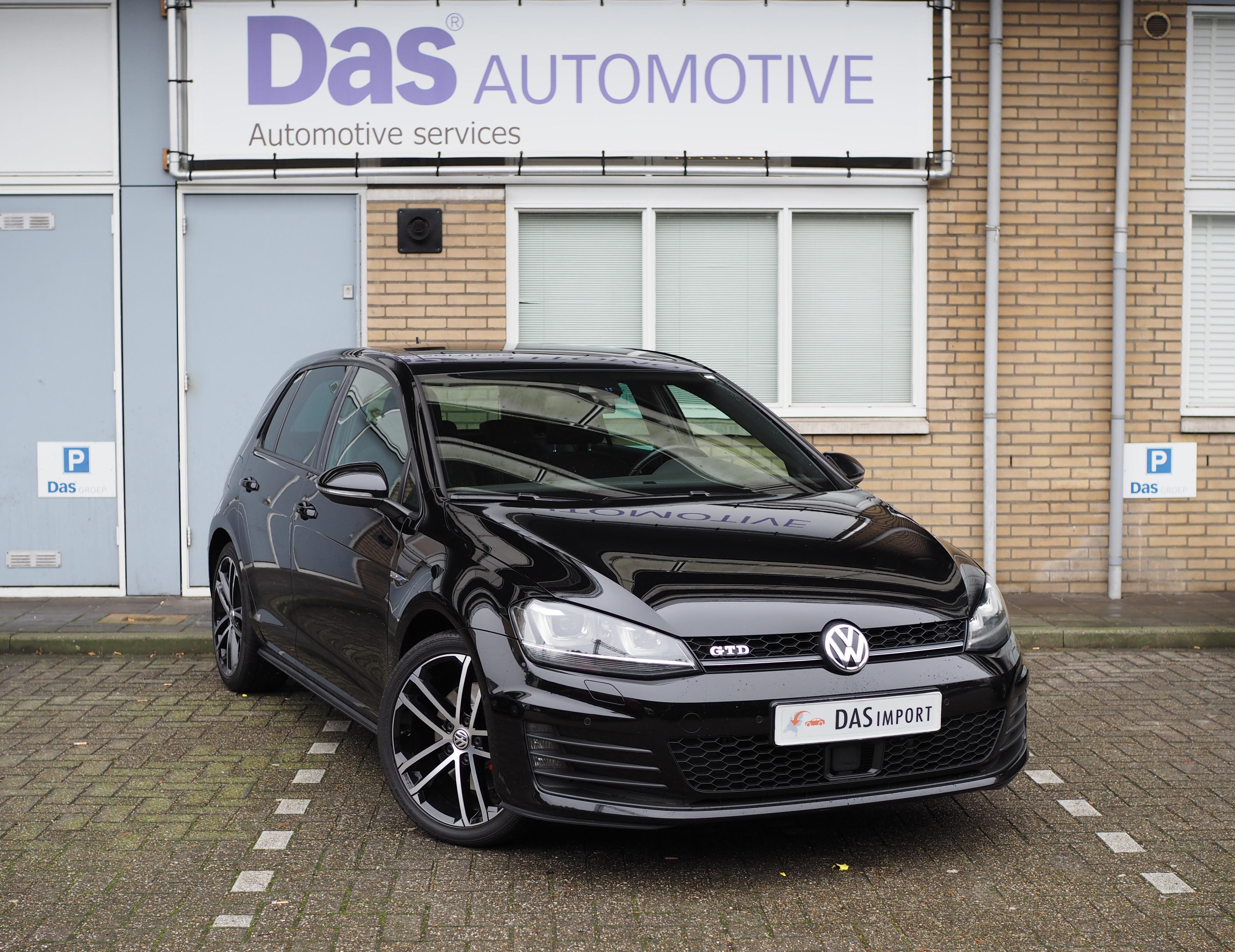 Importauto: Volkswagen Golf 2.0 TDI 184pk GTD 10/2013