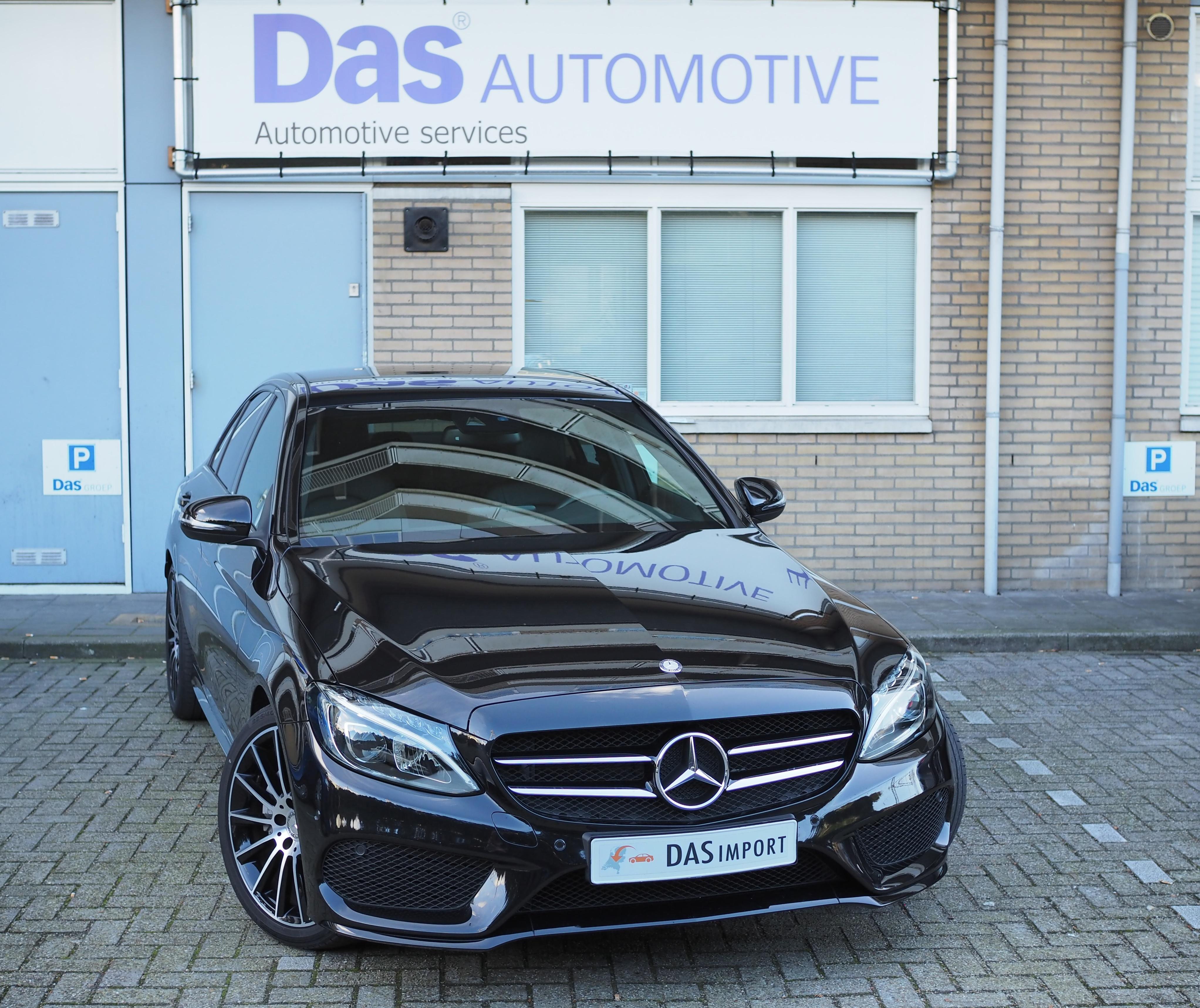 Importauto: Mercedes-Benz C-klasse C180 Aut.  7/2015