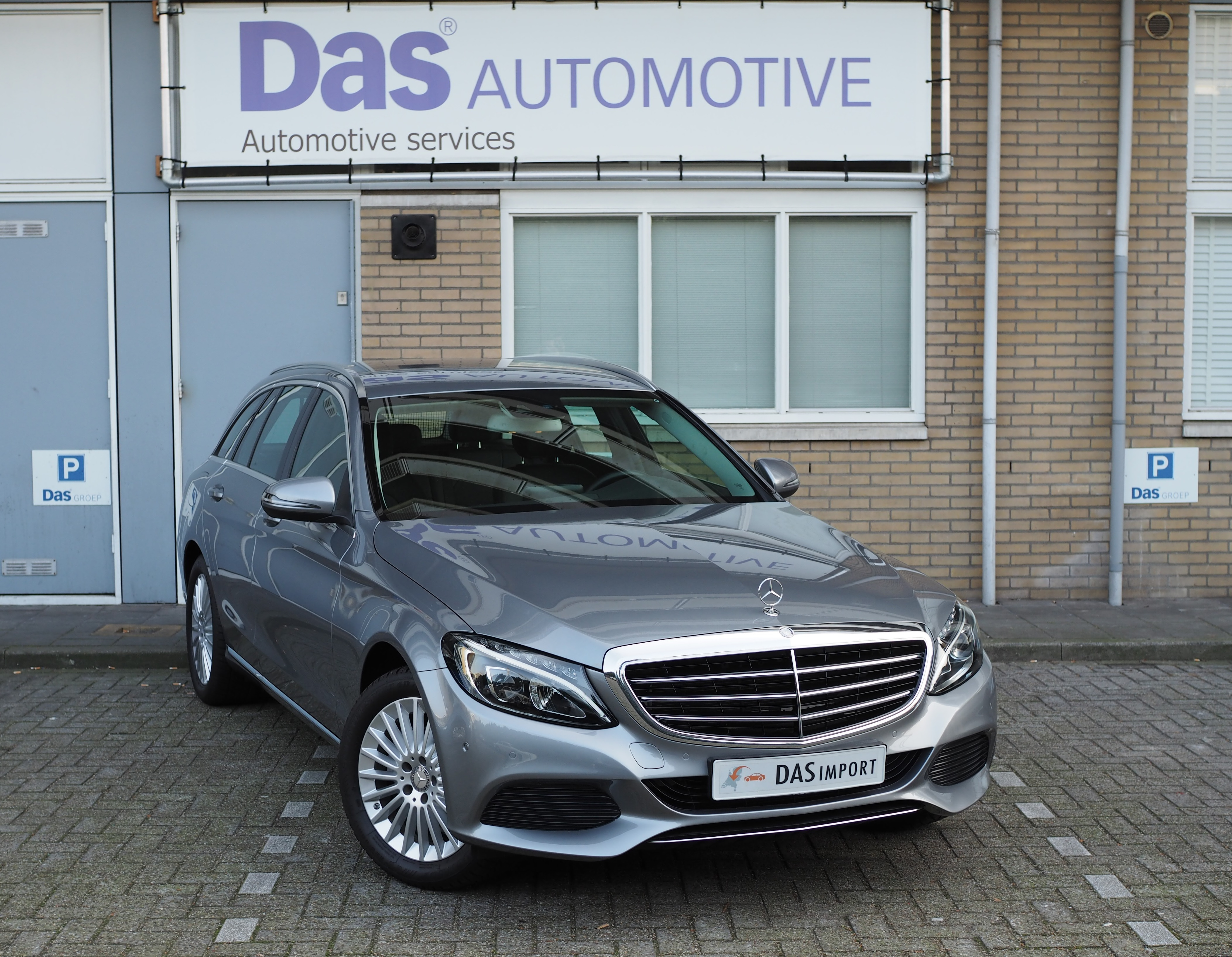 Importauto: Mercedes-Benz C-klasse C180 Estate Aut.  3/2016