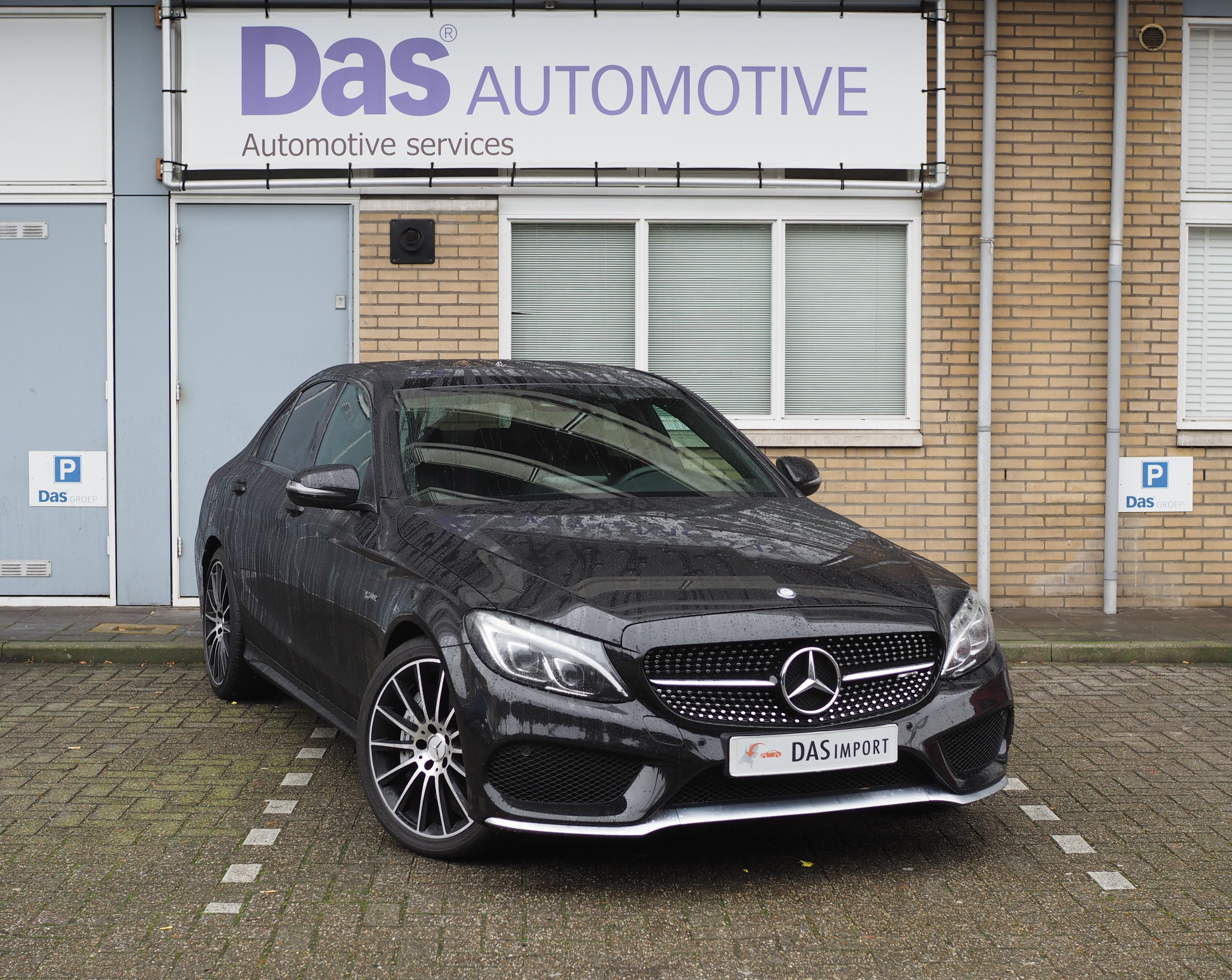 Importauto: Mercedes-Benz C-klasse 43 AMG 4-matic 6/2016