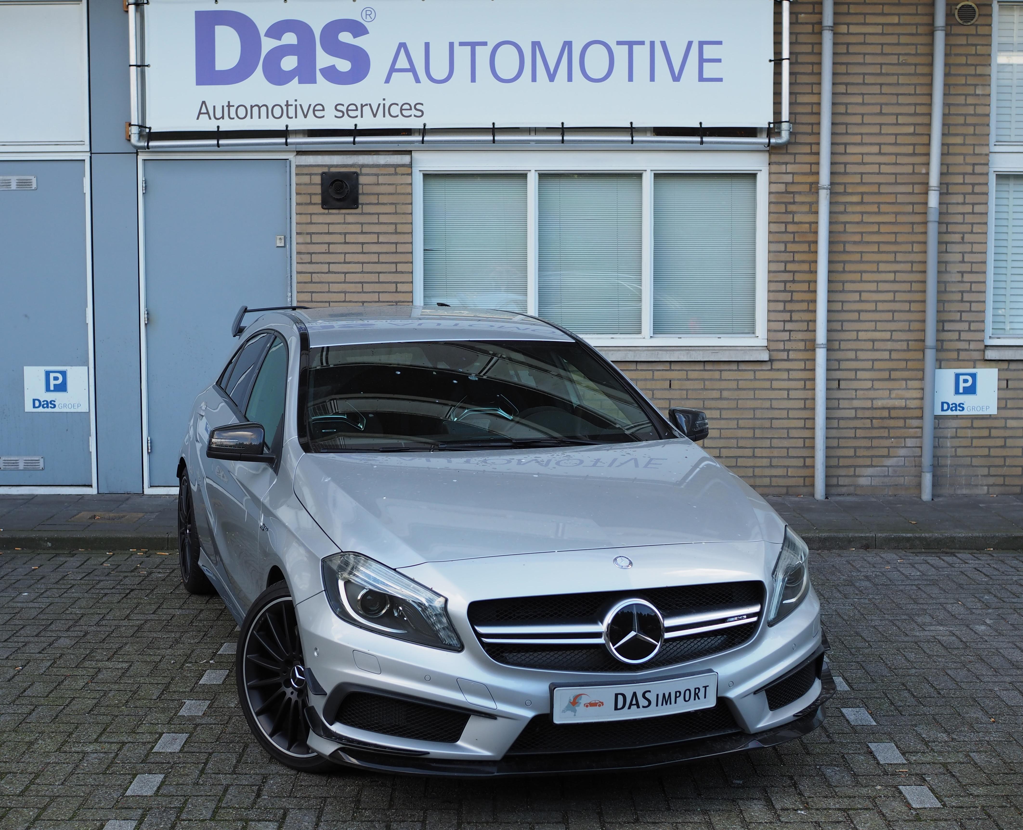 Importauto: Mercedes-Benz A-klasse 45 AMG 4-matic 4/2015