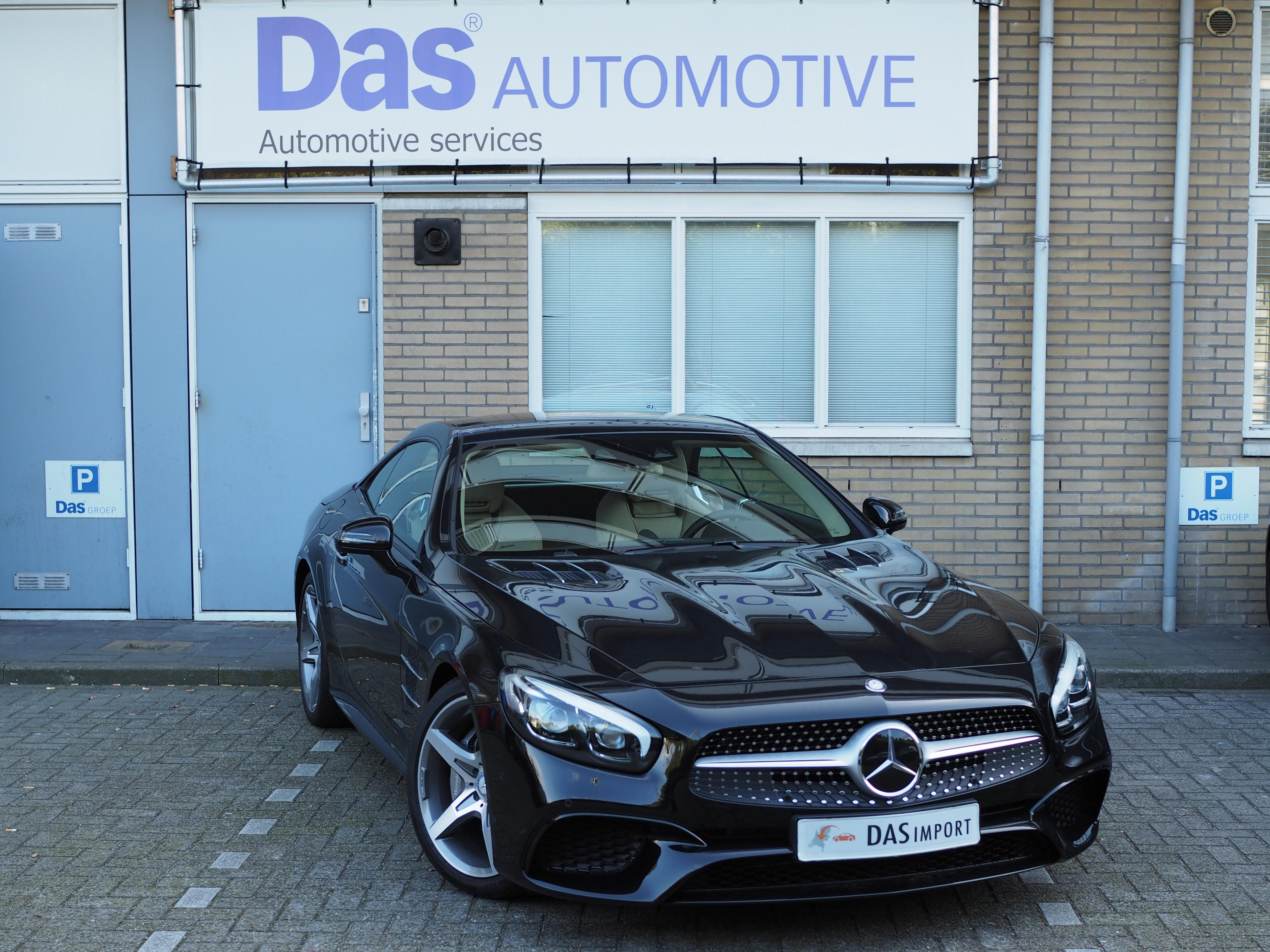 Importauto: Mercedes-Benz SL-klasse 400  9/2016
