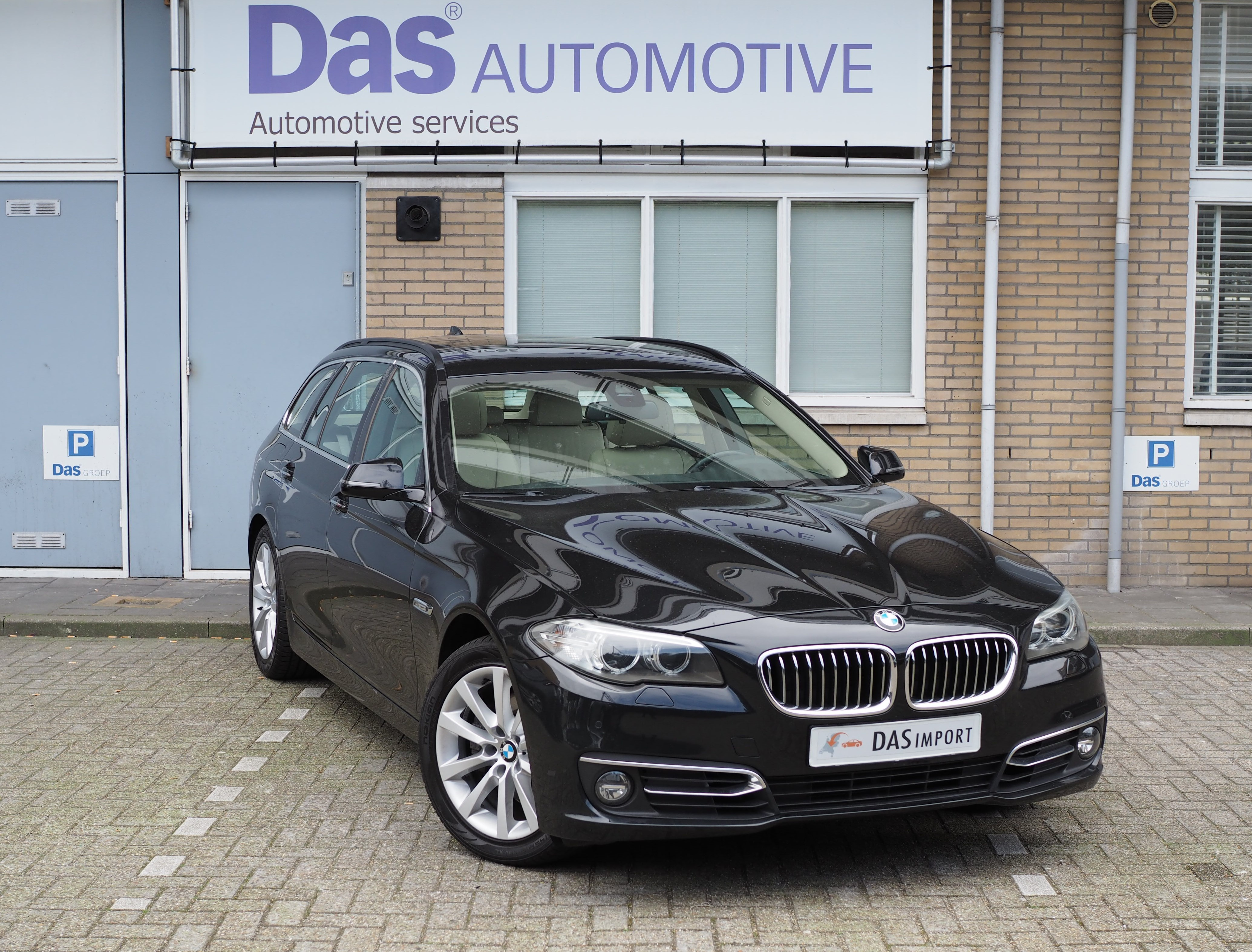 Importauto: BMW 5-serie 525 diesel touring 9/2013